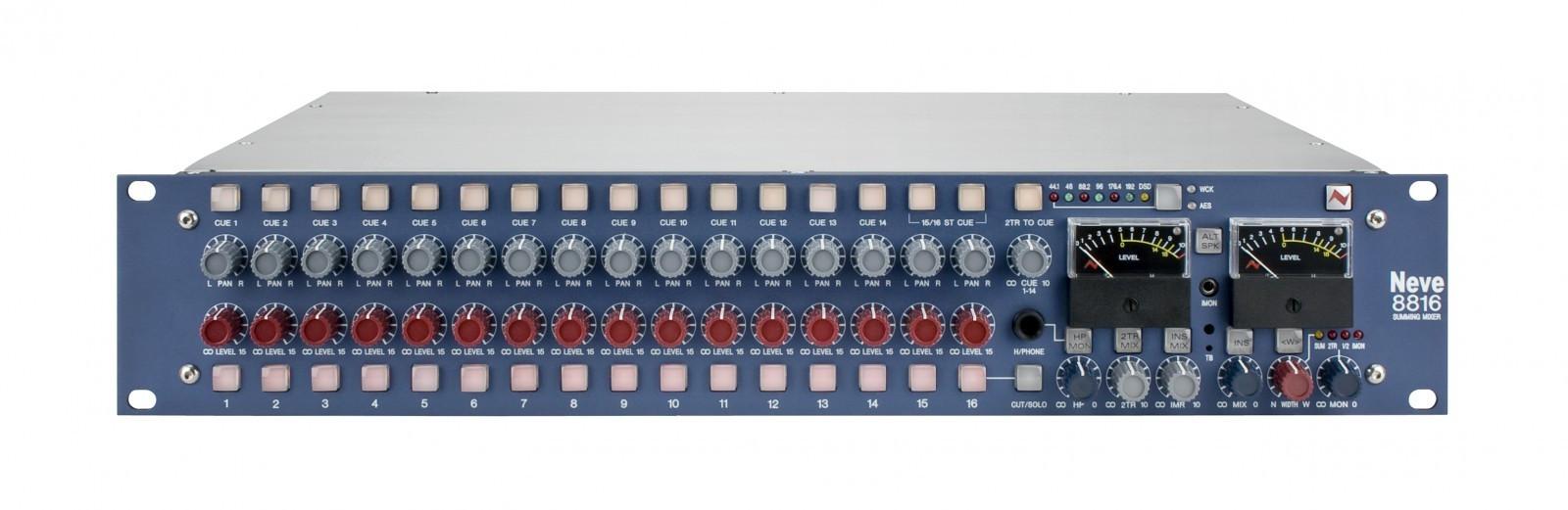 Neve 8816 analog summeringsmikser - Oslo  - AMS Neve 8816 analog summeringsmikser. Håndbygget i England, låter fantastisk. Selges grunnet overgang til mixer. Stått i rack i røykfritt studio og fremstår som ny.    Neve 8816 Summing Mixer Overview The legendary sound of Neve now beco - Oslo