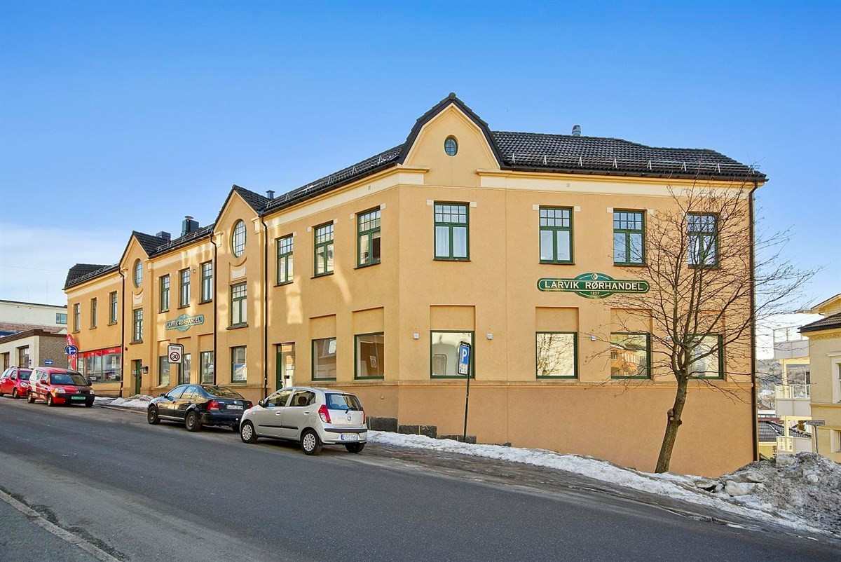 Kontorlokale - larvik - 2 600 000,- - Leinæs & Partners
