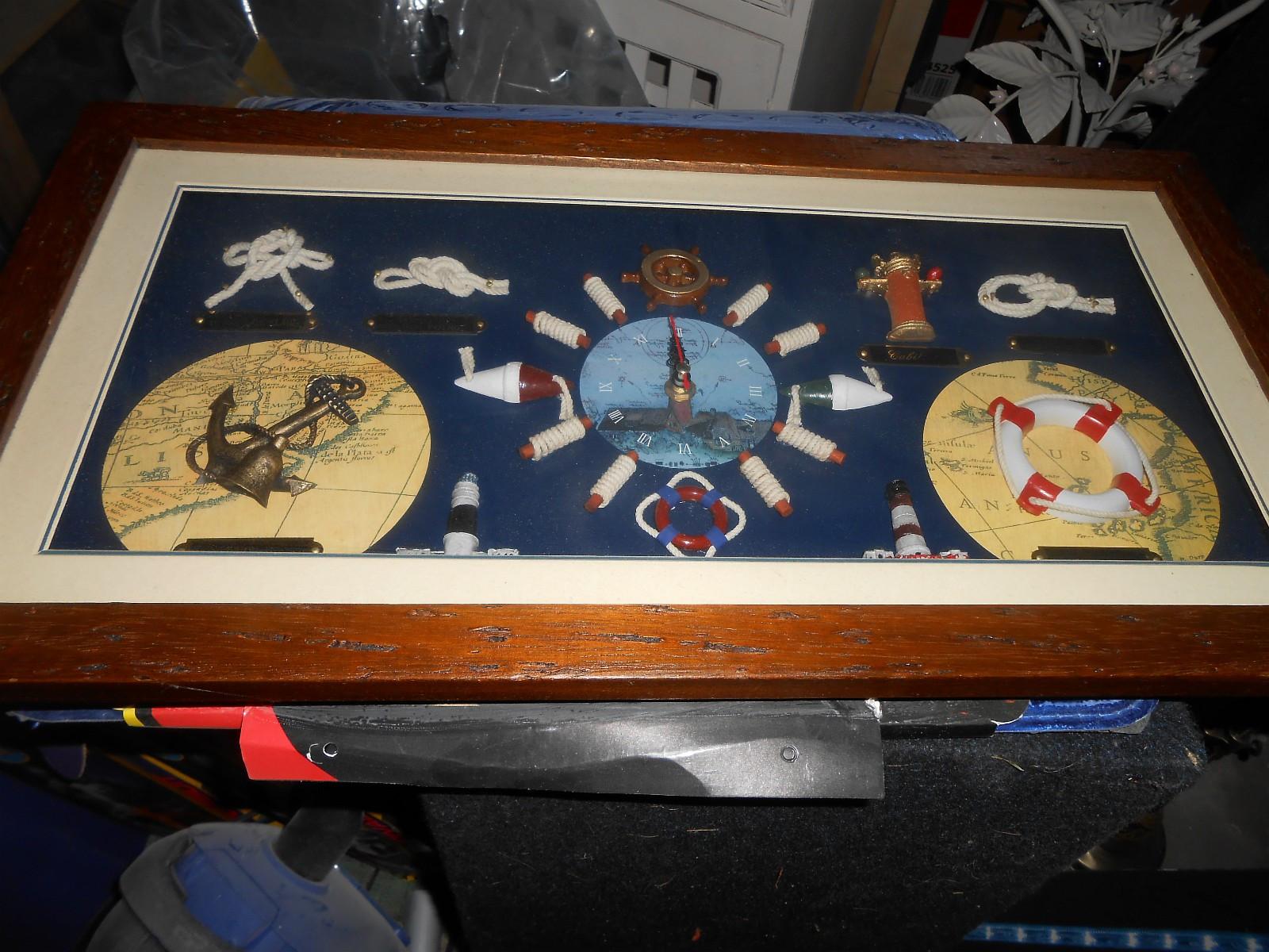 Nytt bilde med klokke - Skotterud  - 56 x 30 cm - Skotterud