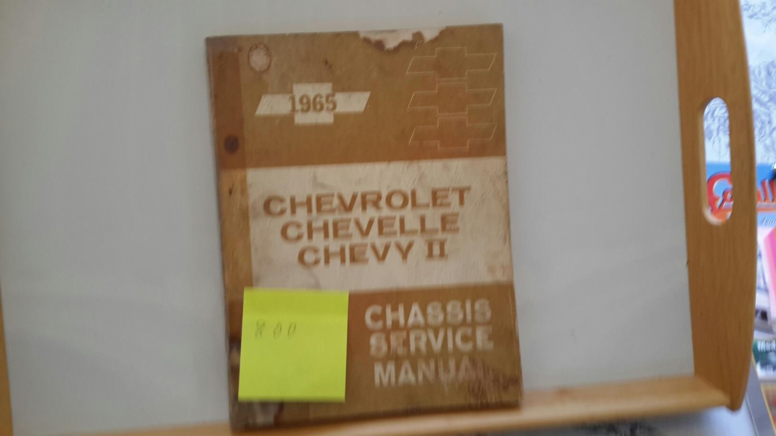 GM  Chevrolet  Chevelle  Chevy2 - Larvik  - Chassis service Manual. - Larvik