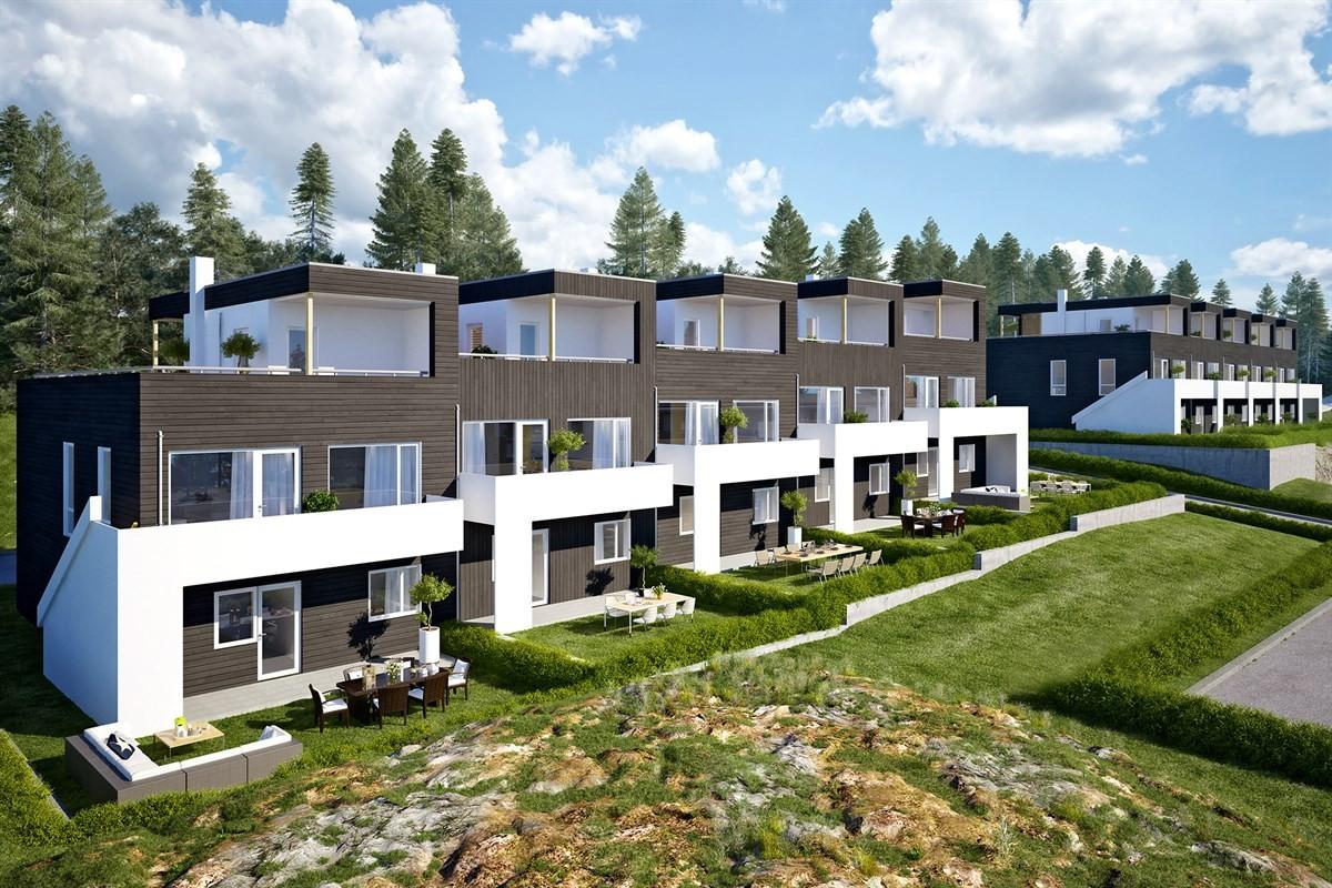 Rekkehus - færvik - 3 693 000,- - Meglerhuset & Partners