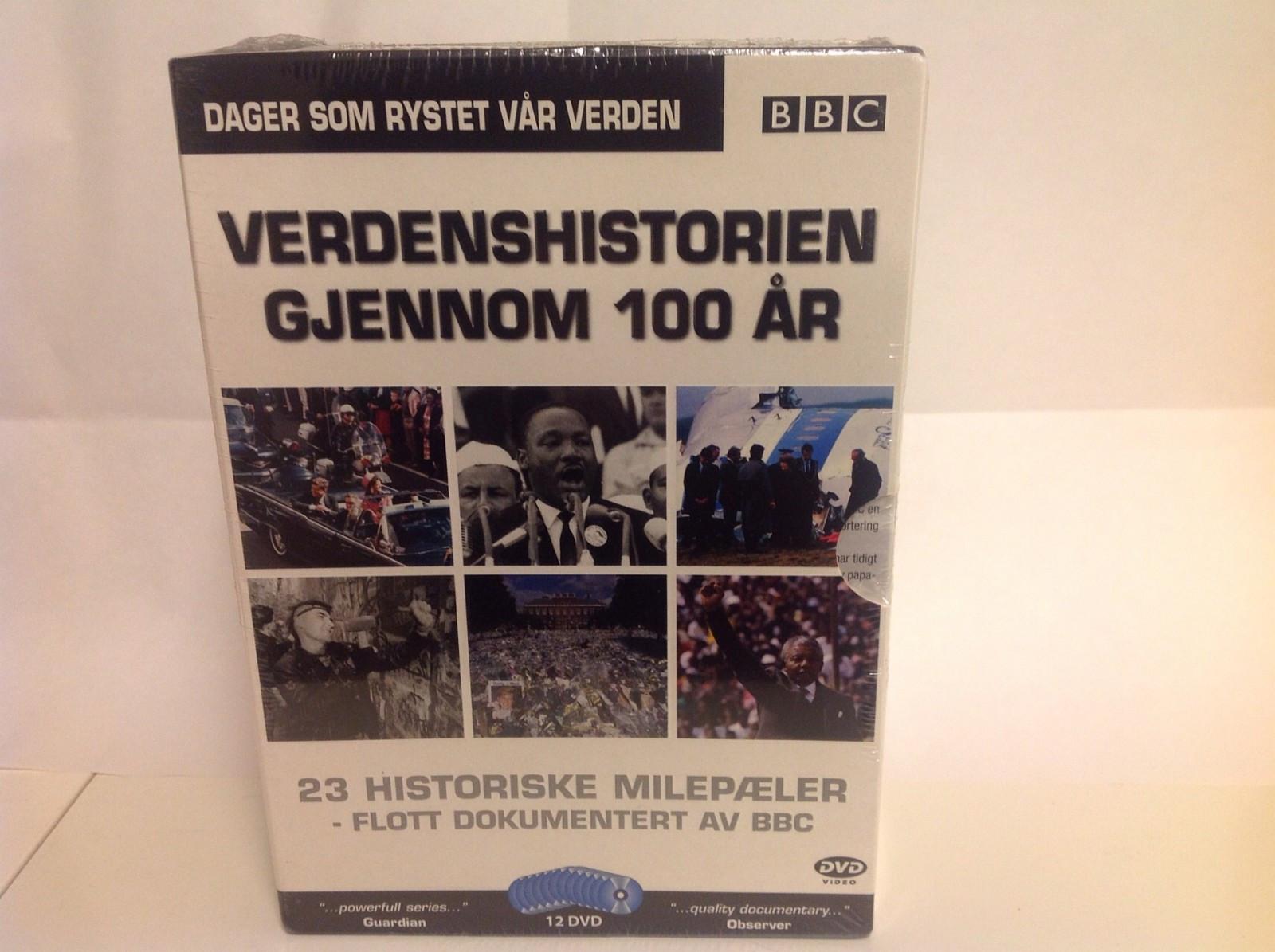 Uåpnet komplett dvd samling om verdenshistorien - Brattholmen  - Ny - Brattholmen