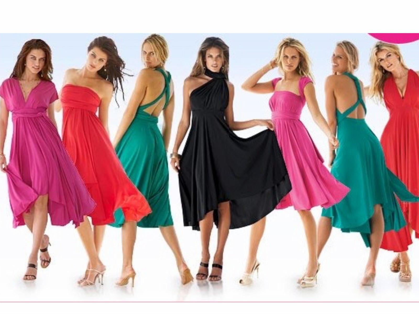 Victoria Secret 7 way dress - Drammen  - Moda international fra Victoria Secret! Aldri brukt ! Dette er en kjole som kan knytes på mange forskjellige måter. Søk gjerne på YouTube, så får du se video. Str.M med stretch i stoffet.  Sendes kun ved  - Drammen