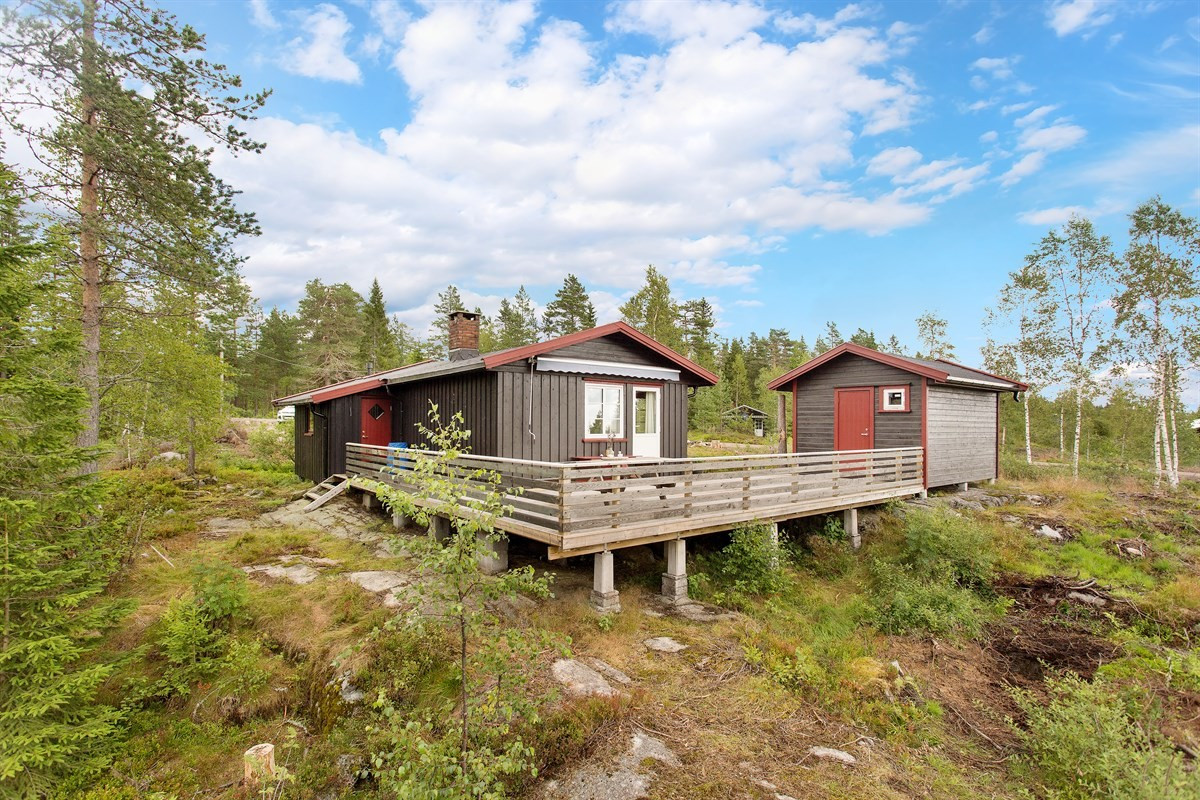 Hytte - steinsholt - 790 000,- - Leinæs & Partners