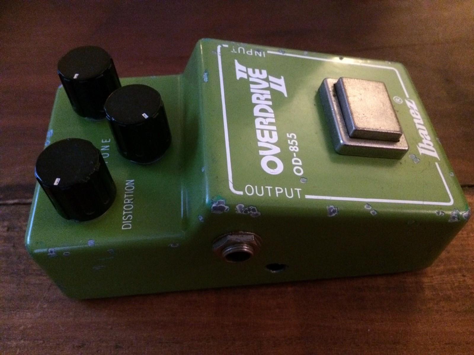 Vintage Ibanez OD-855 overdrive 2 - Lunner  - Vintage Ibanez OD-855 overdrive 2 selges. Kul box fra slutten av 70 tallet. Funksjonabel og virker som den skal. Kjøper bet frakt. - Lunner
