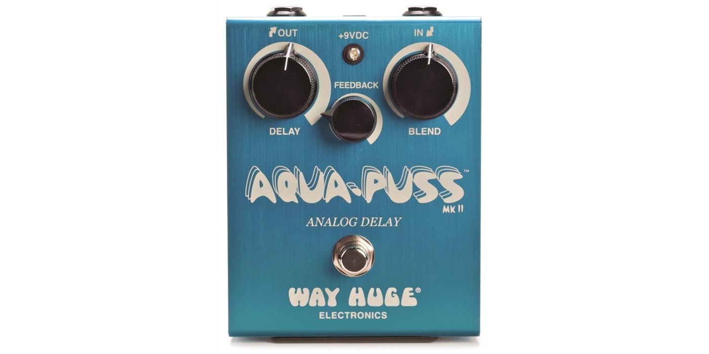 Way Huge Aqua Puss Analog Delay - Trondheim  - Ubrukt Way Huge Aqua Puss analog delay pedal til salgs.    Kjøpt i USA sommeren 2017. Frakt betales av kjøper. Kan hentes i Trondheim sentrum. - Trondheim