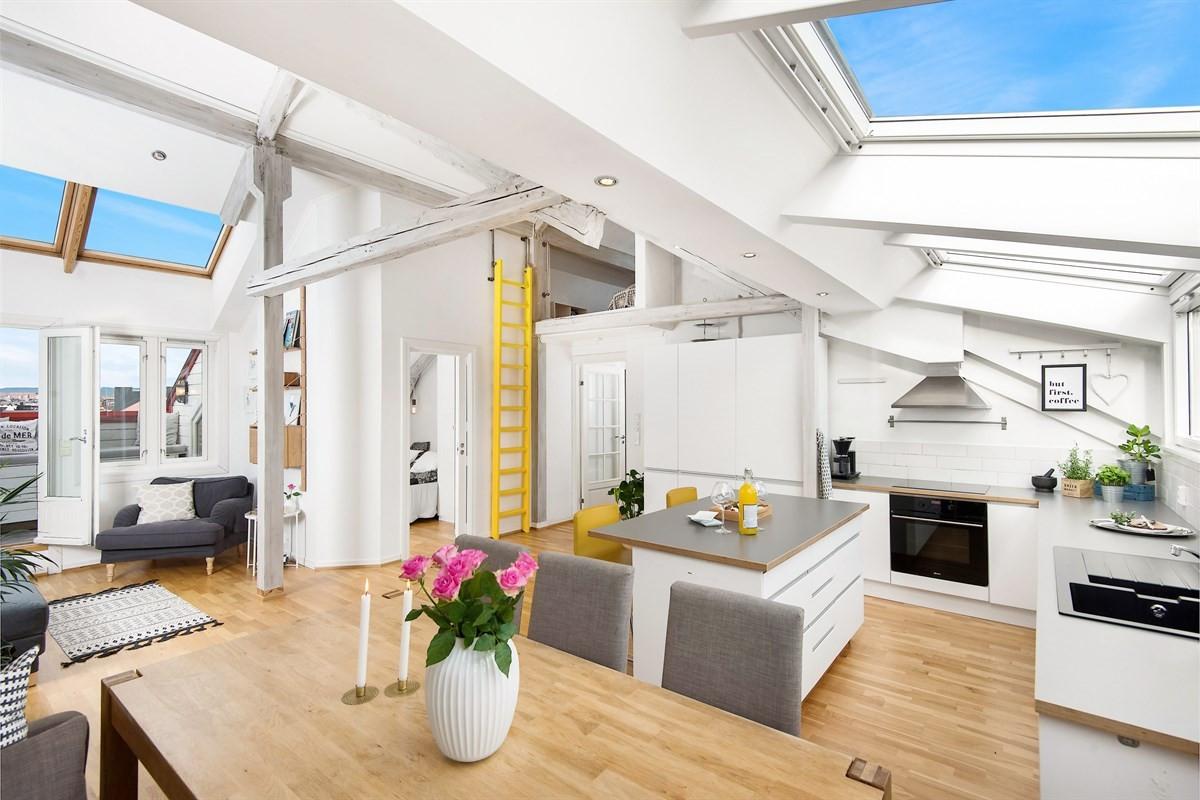 Schala & Partners Carl Berner - Leilighet - St. Hanshaugen - Ullevål - 6 200 000,-