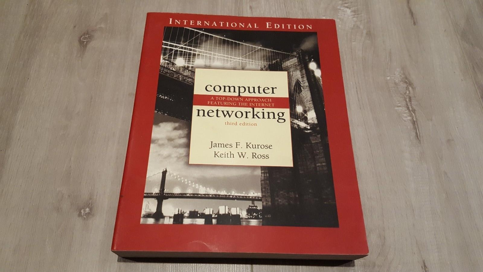 Computer networking, third edition - Sandnes  - Computer networking, third edition, a top-down approach featuring the internet. av James F. Kurose & Keith W. Ross  Pent brukt, i god stand.  ISBN 0-321-26976-4 (0321269764) - Sandnes