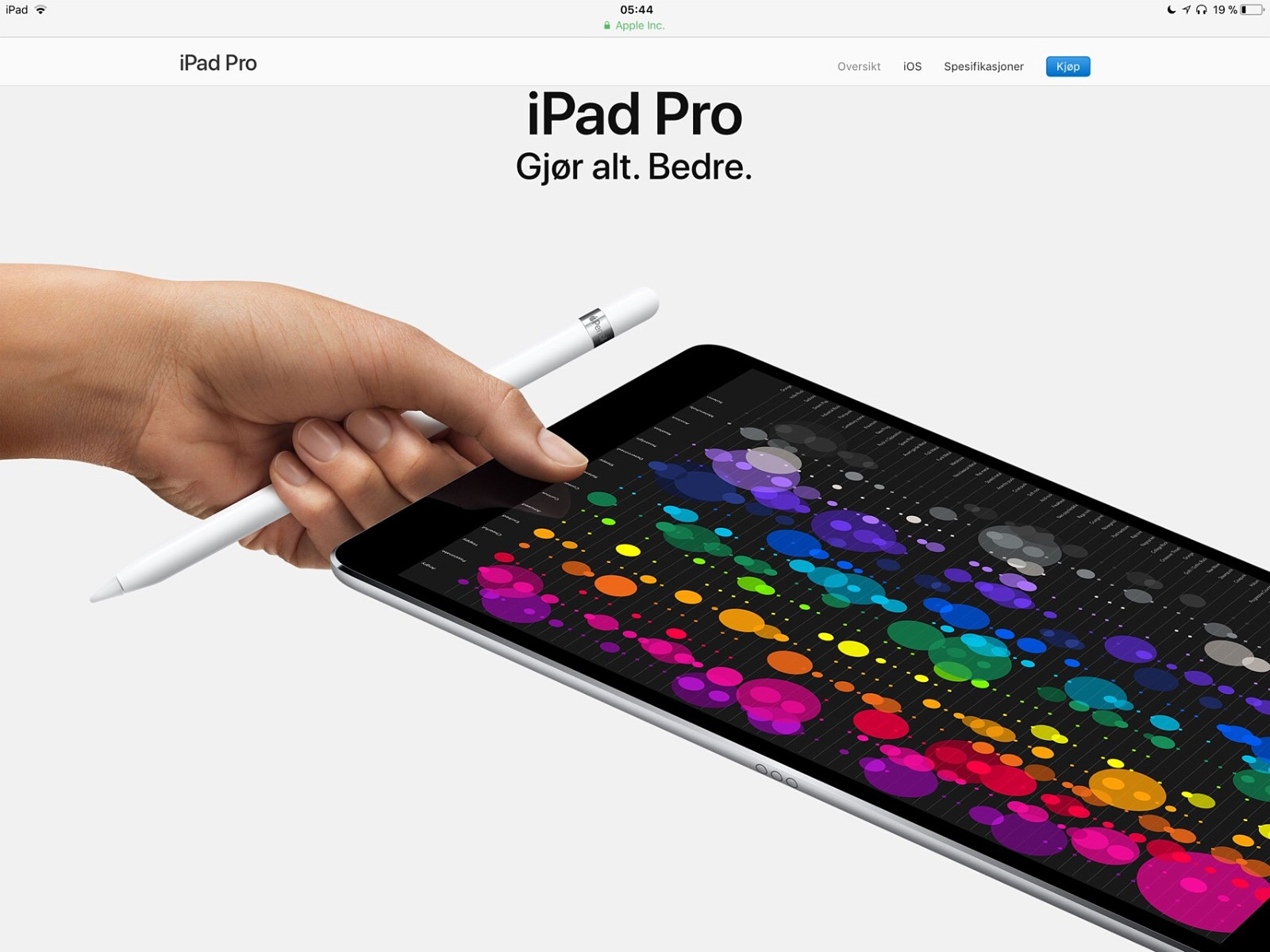 iPad - Stord  - iPad pro 12,9. 256 GB WI FI og cellular (mulighet for sim kort)  Fin og i daglig bruk, men byttes ut for IPad 4 grunnet mye reise,  Har kun en synlig skramme på 1x0.2 mm ellers helt fin.  Ekstra utstyr er  original Penn, fanta - Stord