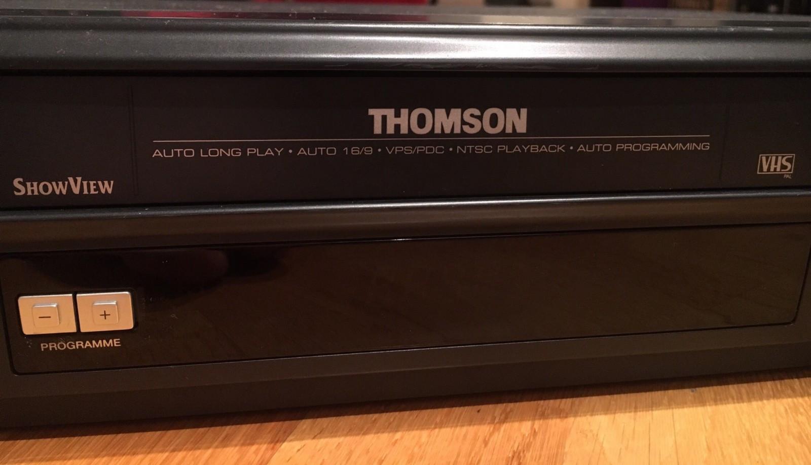 Thomson VHS Stereo - Tromsø  - Thomson VHS-spiller kjøpt på Hifi-Klubben rundt år 2000. Meget god lyd og bilde. Nicam Hifi Stereo. Scart-kabel medfølger - Tromsø