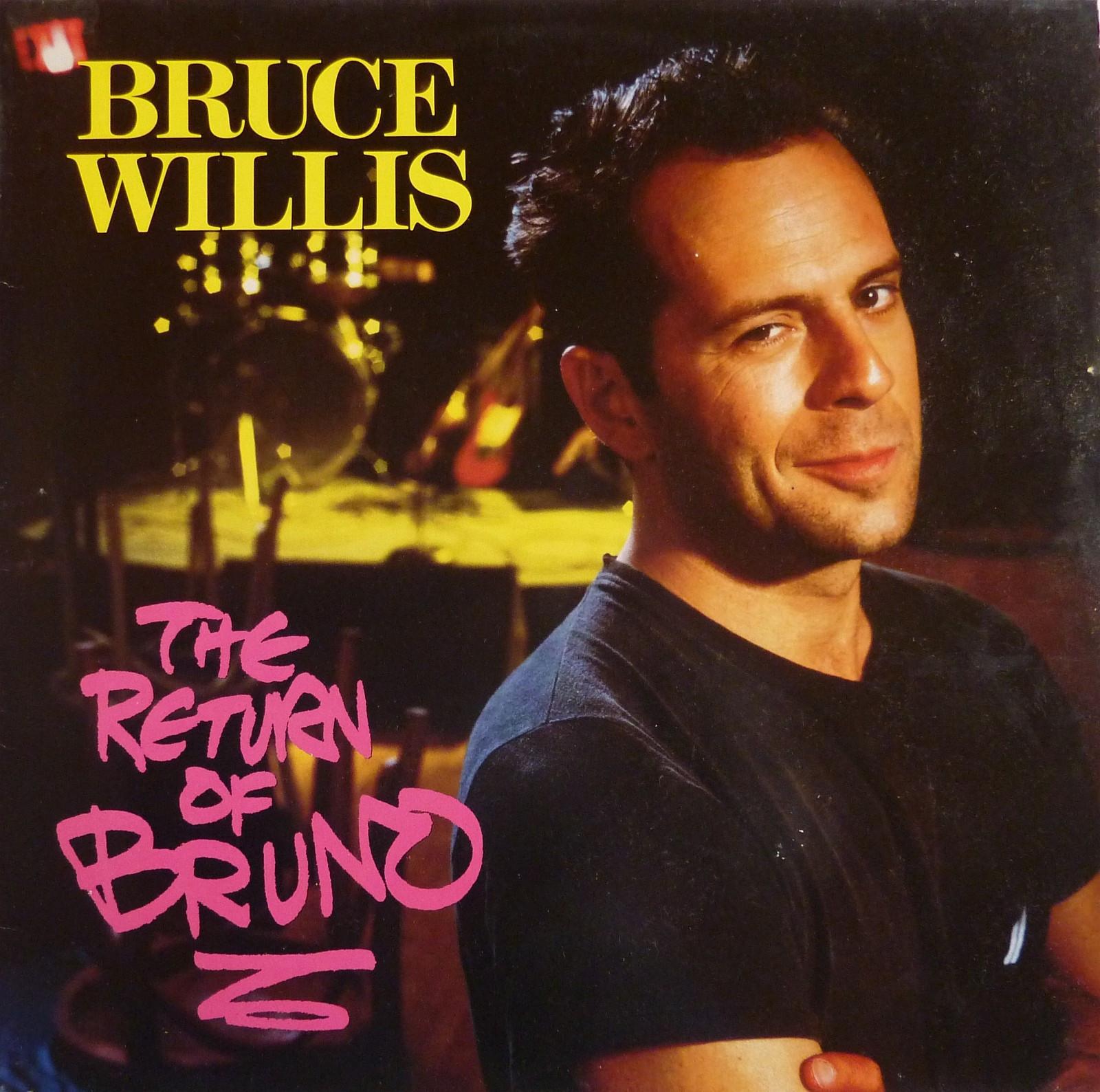 """Bruce Willis - The Return of Bruno (1987). Ja, dette er selveste Bruce Willis - Ski  - Bruce Willis - The Return of Bruno. Utgitt på Motown, US 1987. Vinyl album 12"""". Label 6222ML.  Genre: Funk / Soul, Blues Style: Rhythm & Blues, New Jack Swing   Tracklist: A1 Comin' R - Ski"""