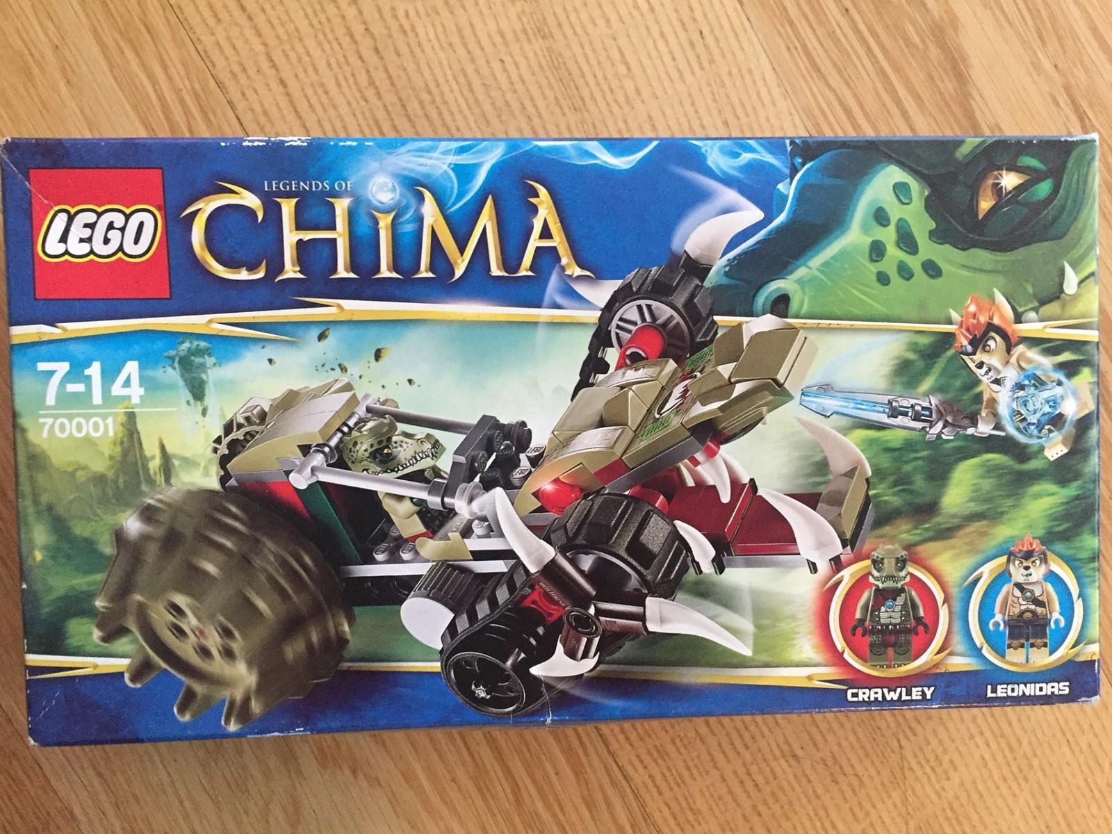 Lego Chima - Hamar  - Lego i uåpnede esker.  Lego Chima 70001. Crawley og Leonidas 100krLego Chima 70139 Sky launch og Eris 100k  Lego 40180 Brictober Theater 50kr - Hamar