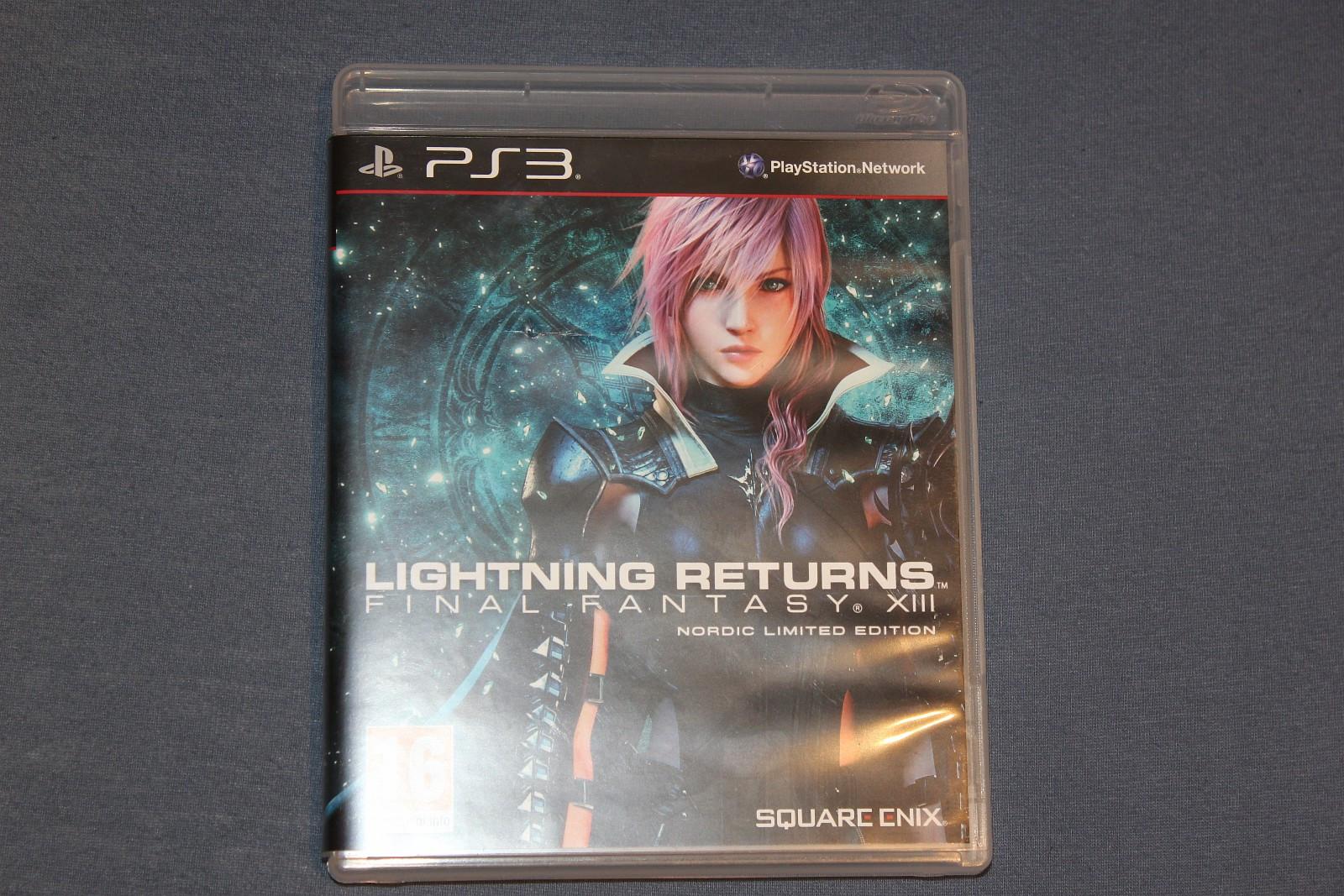 Final Fantasy XIII Lightning Returns - Sandnes  - Final Fantasy XIII er helt nytt. jeg har tatt av plastikken, men jeg har egentlig aldri spilt det. jeg har aldri fått spilt det siden jeg liker egentlig ikke final fantasy, så hvis dere lurer på hvorfor jeg har det så er det begrunn av at j - Sandnes