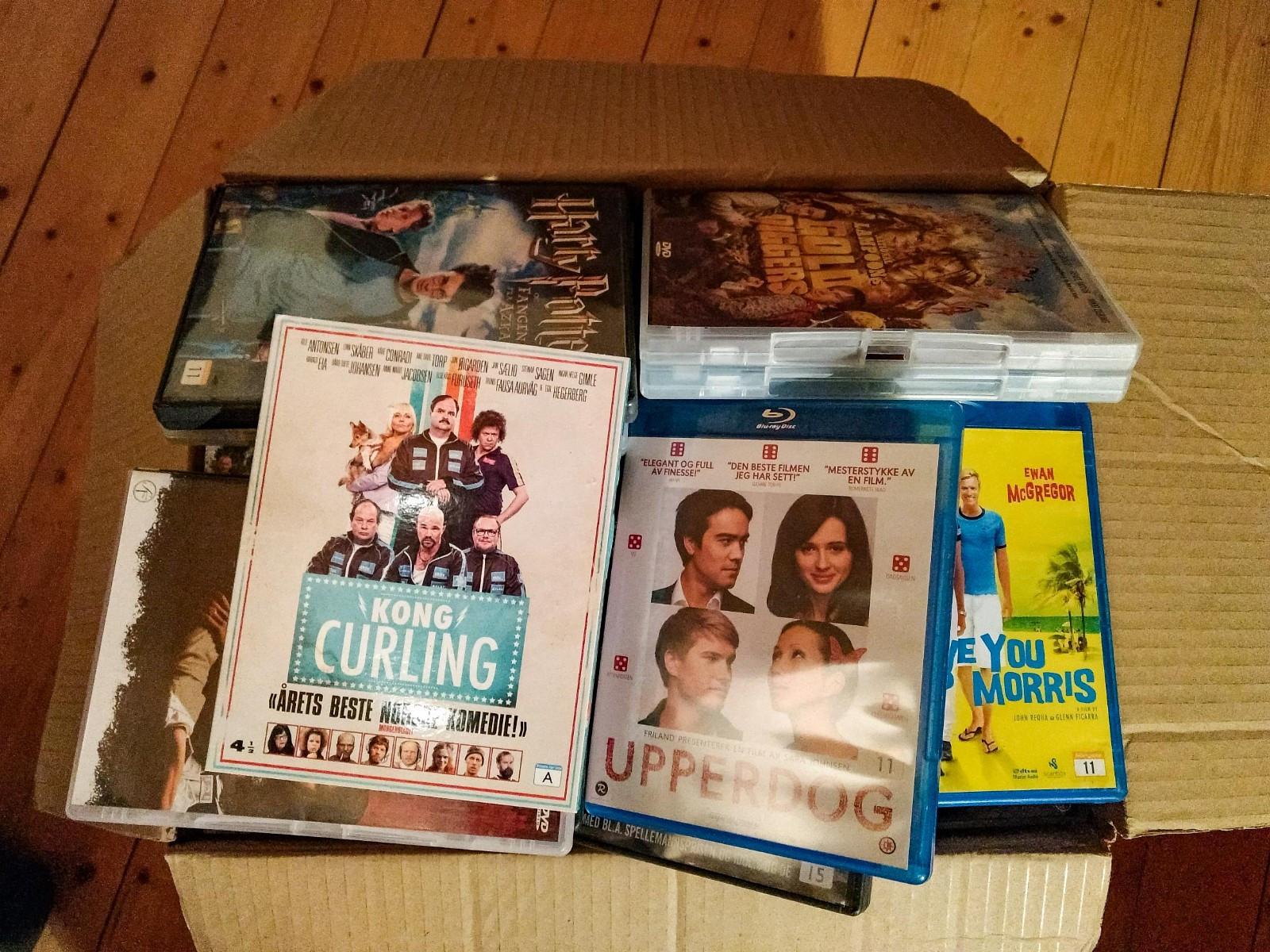 DVDer til salgs! - Hommelvik  - 91 DVD-filmer selges samlet. - Hommelvik