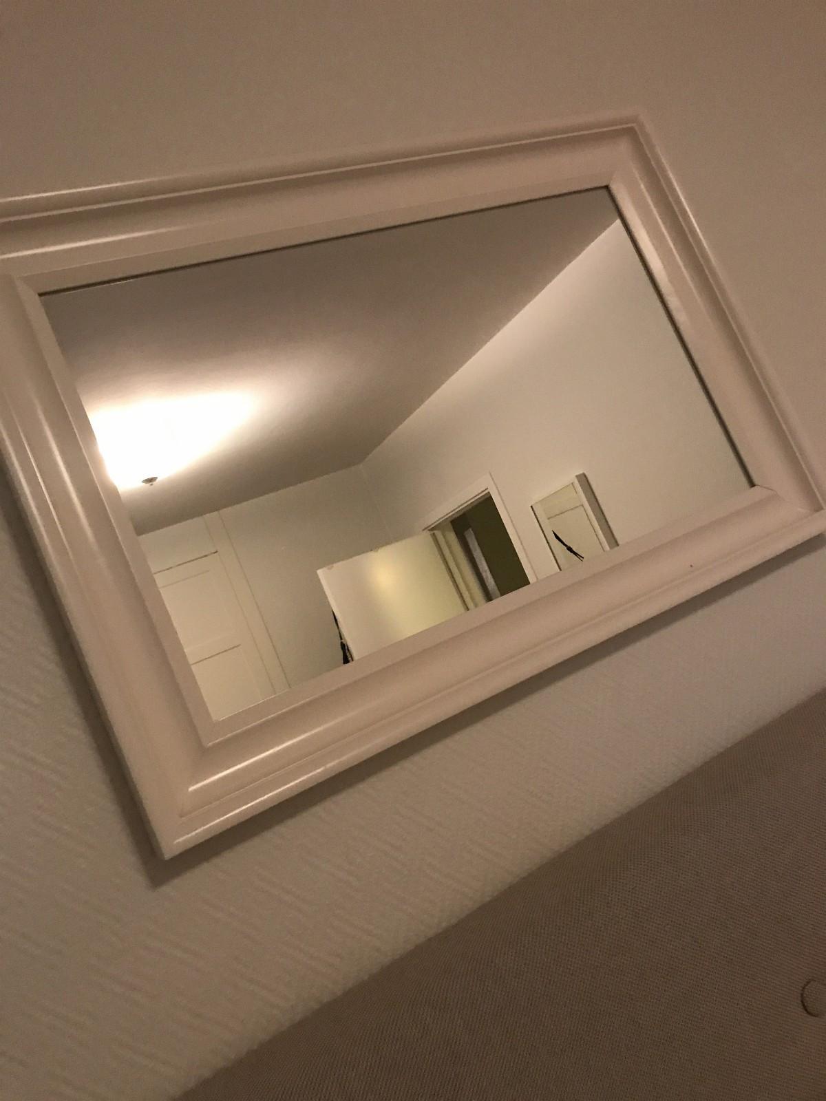 Hemnes speil Ikea - Oslo  - Hemnes Ikea speil som er relativt nytt og lite brukt. Speilet er i hvitt. Må hentes - Oslo