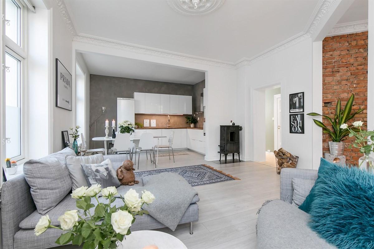 Leilighet - Grünerløkka - Sofienberg - oslo - 4 500 000,- - Schala & Partners