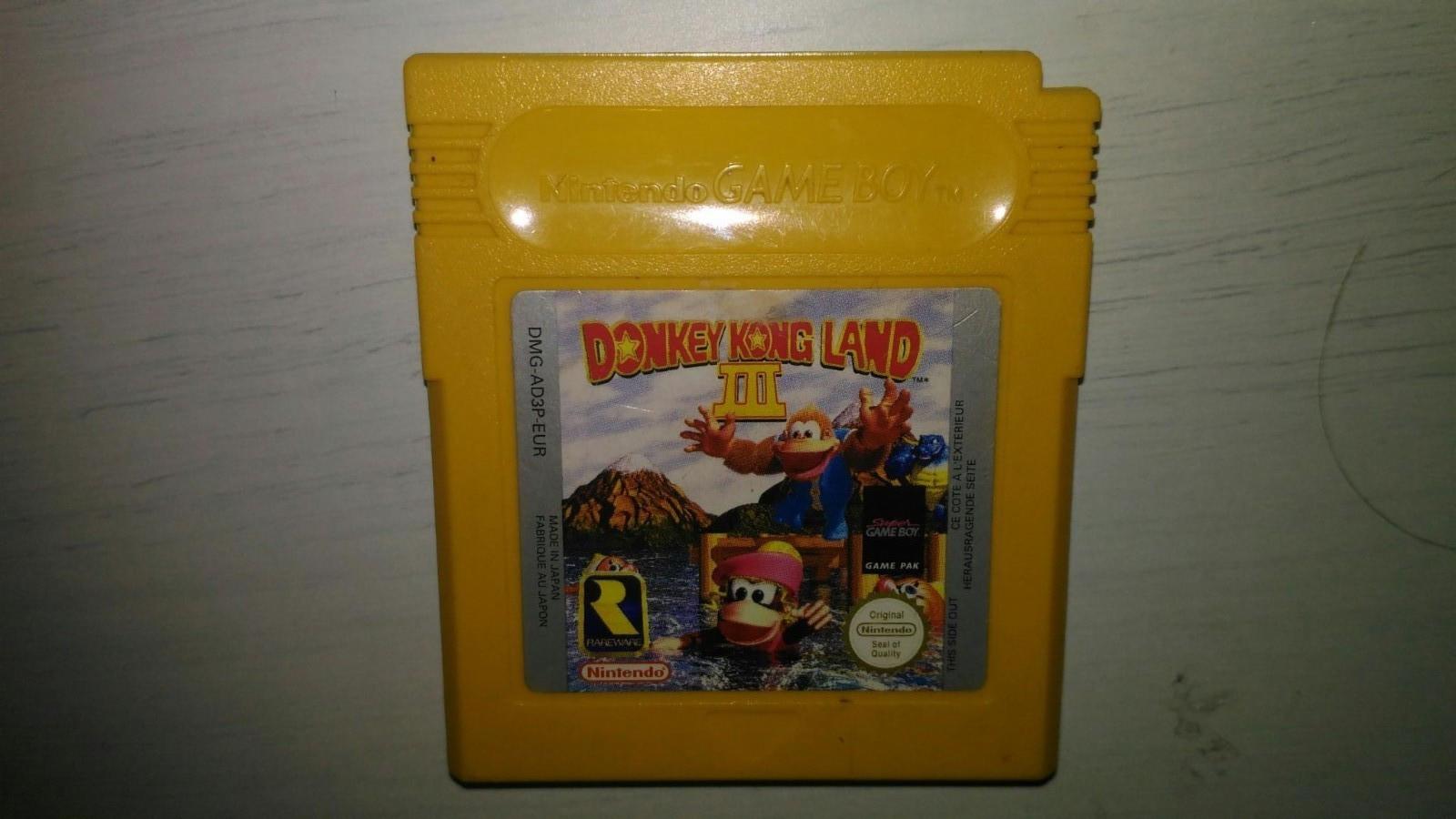 GB Spill - Donkey Kong Land 3 (Game Boy) - Sandnes  - GB Spill - Donkey Kong Land III (Game Boy) Video: https://www.youtube.com/watch?v=LXehWgfhgIU Info: https://www.mariowiki.com/Donkey_Kong_Land_III Se gjennom mine andre annonser for mer Game Boy spill. Sender ikke. - Sandnes