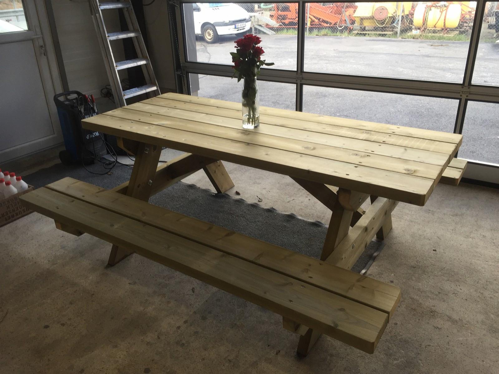 Fra mega Bord benk benkebord i ett | FINN.no XN-45