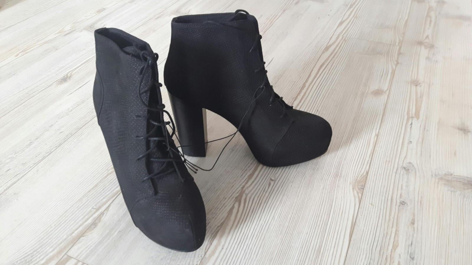 High heels med platformen - Lillestrøm  - High heels med platformen.  Helt nye, ubrukte.   Str. 40. - Lillestrøm