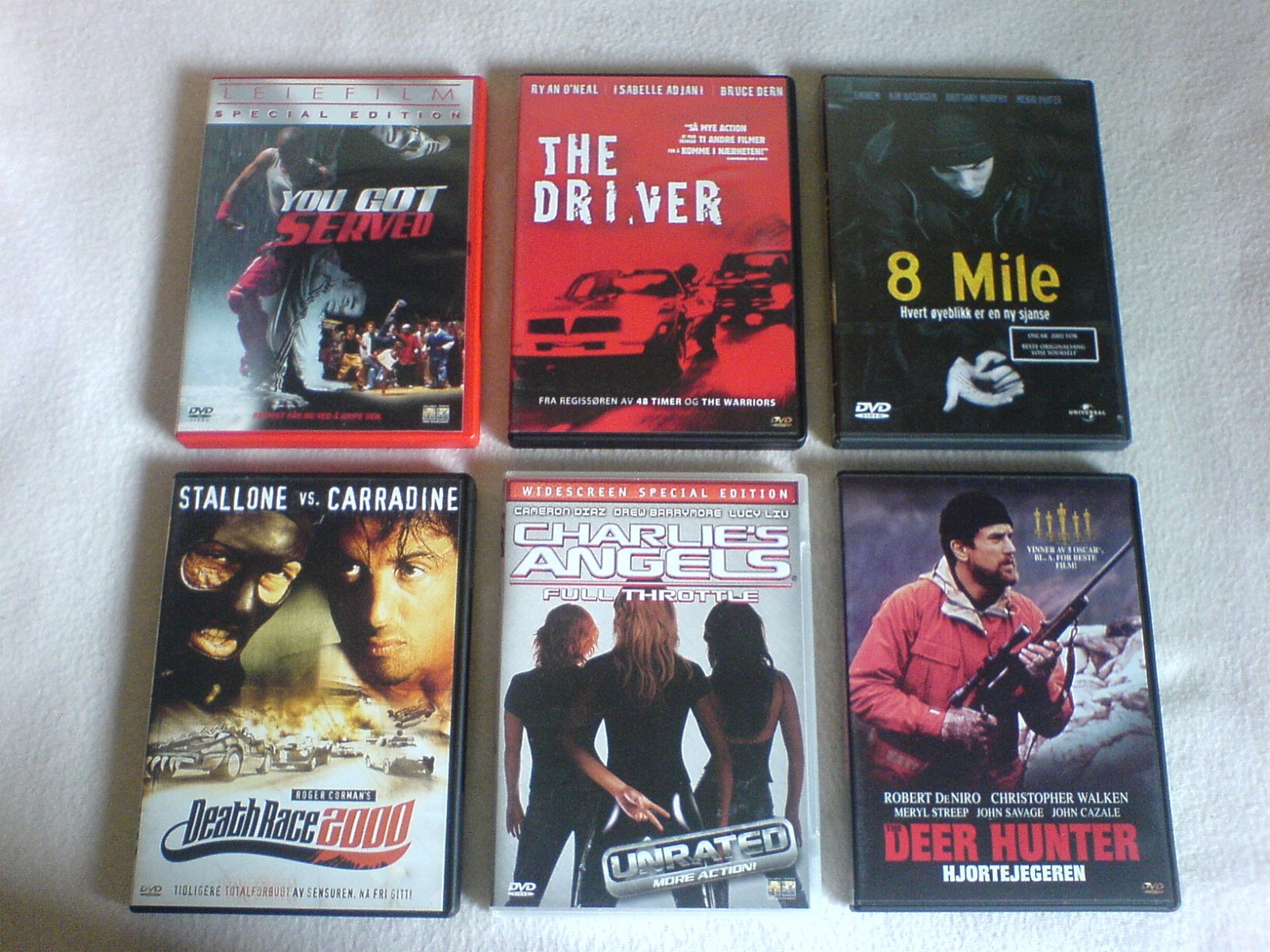 DVD filmer, 50 kroner per stk. - Hakadal  - DVD filmer, 50 kroner per stk.