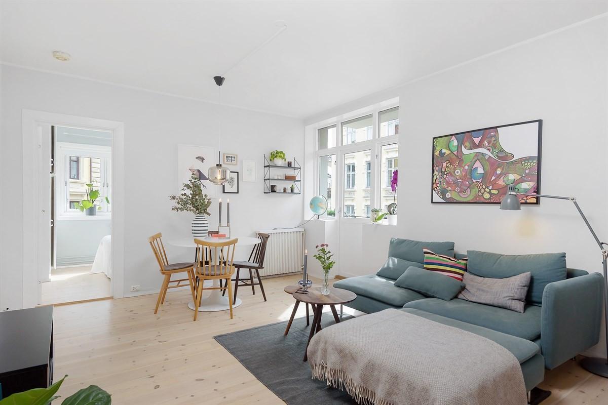 Leilighet - Grünerløkka - Sofienberg - oslo - 3 400 000,- - Schala & Partners