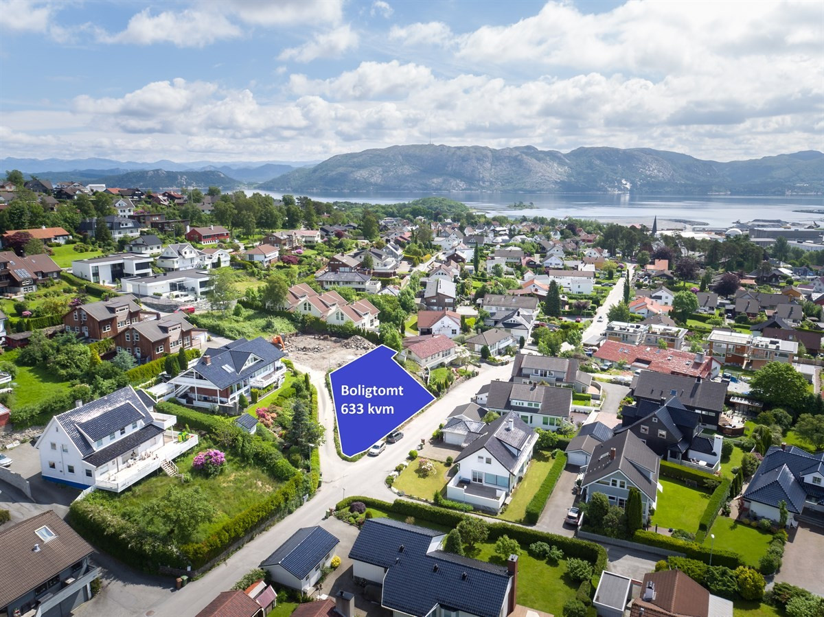 Huus & Partners Stavanger - Boligtomt - 4 200 000,-
