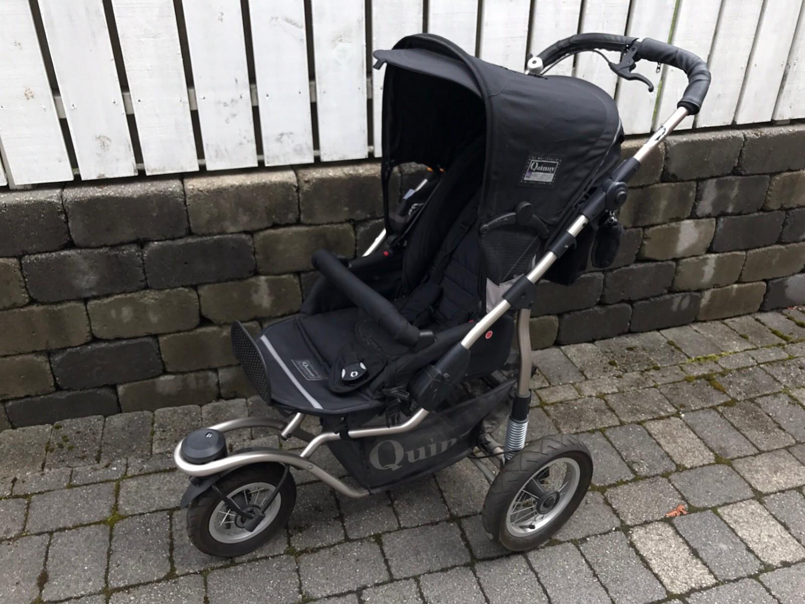Quinny barnevogn - Stavanger  - Fint brukt quinny barnevogn med bag og sittedel. Kom gjerne med bud. Må hentes. - Stavanger