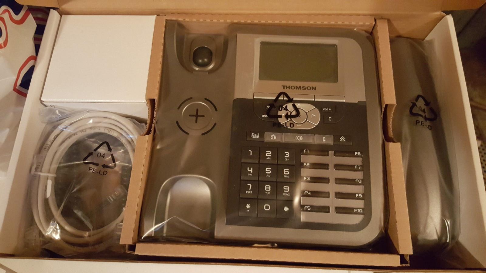 Thomson ST2030 - Oslo  - Selger 2 Thomson ST2030, helt nye IP telefoner. Kr. 300 per stk. Tar du begge, går de for 500 kroner. - Oslo
