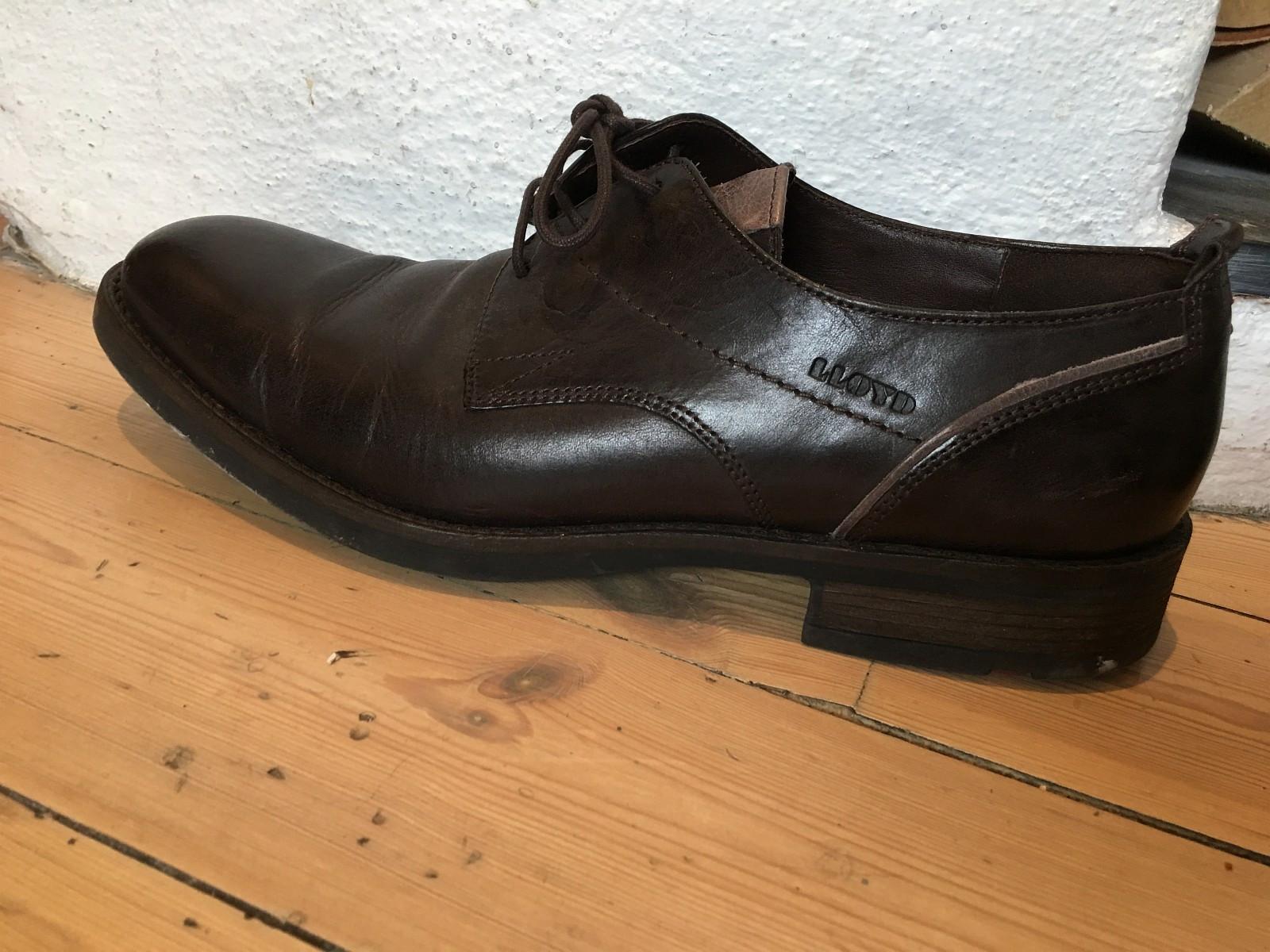 Lloyd Malvin sko brune 8,5 - Oslo  - Lloyd sko som kostet godt over 1000kr selges billig. Brukt en gang; selges da de er for små for meg.. Størrelse 8,5. Som veler str 42-43 - Oslo