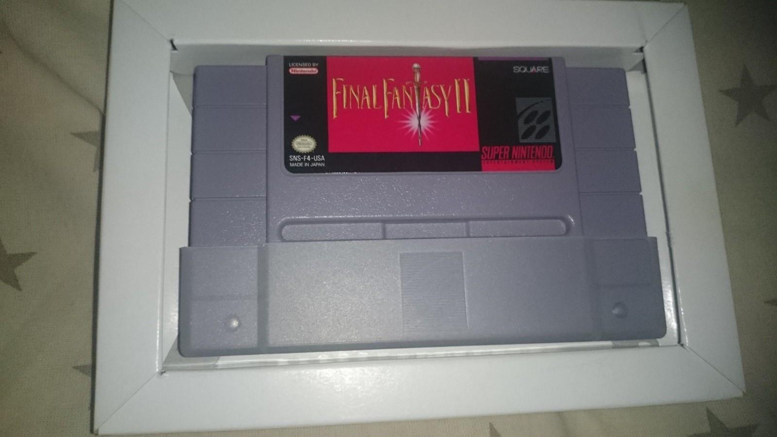 Final Fantasy II US versjon - Skien  - Final Fantasy II  kan kun bruker på amerikansk SNES konsoll  er komplett med boks, manual og plakater, har testa det og funket helt fint - Skien