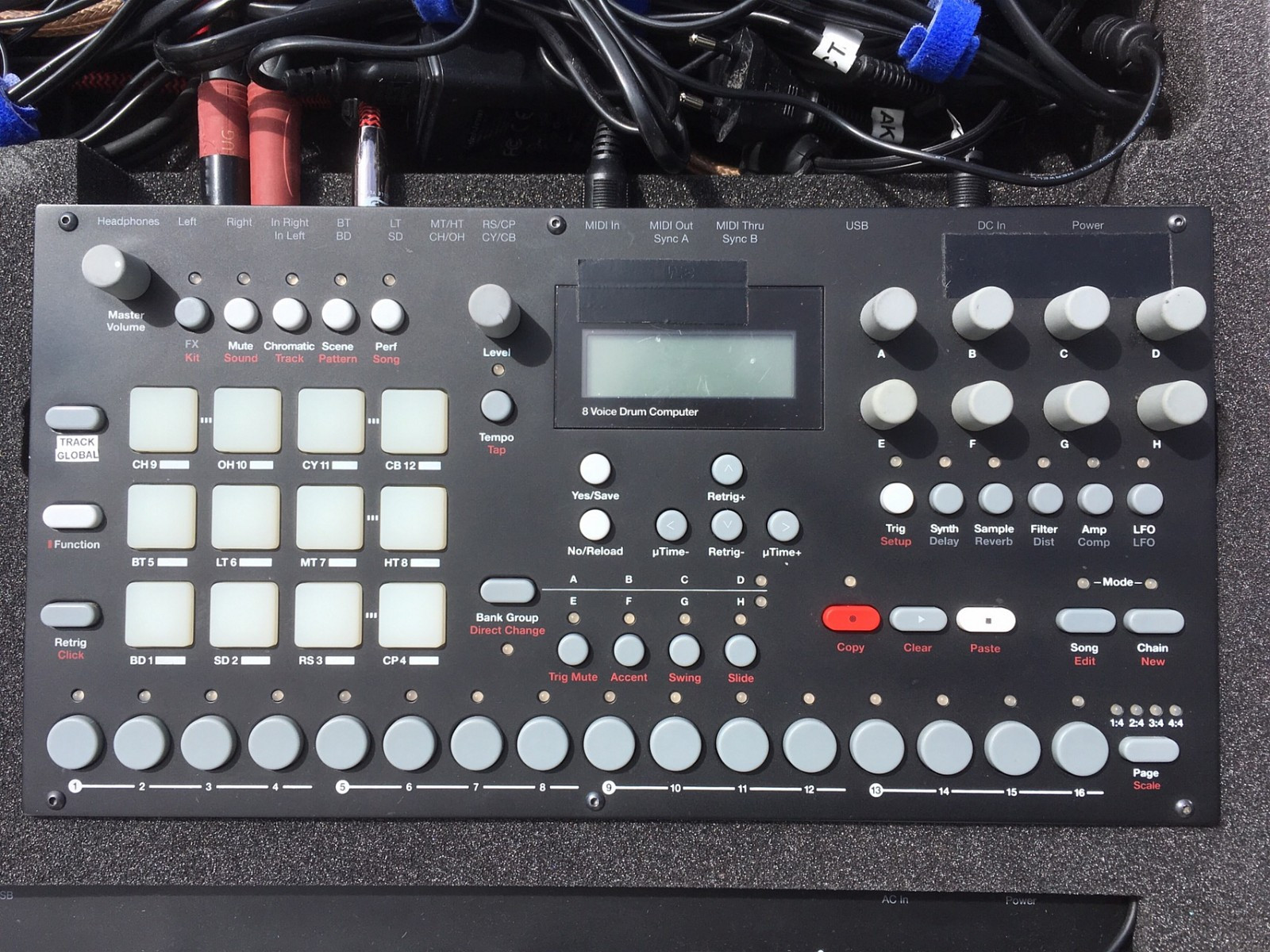 Elektron Analog rytm - Oslo  - Hi I'm selling my Elektron Analog Rytm  It's in perfect condition and comes with box, cable and manuals  Selling for an upgrade Thanks for looking and good luck   P.S: I'm not a fan of prom - Oslo