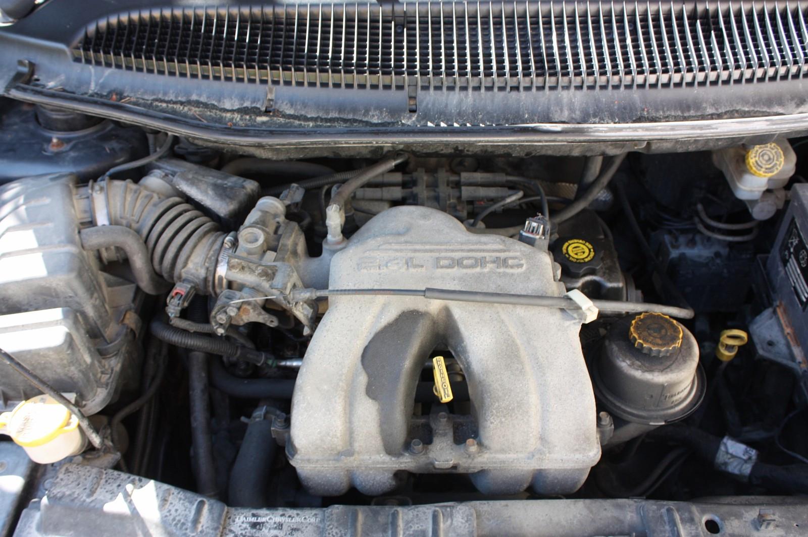 Motor 2005 model Chrysler 2.4  bensin, registerrem byttet - Fredrikstad  - Motor til Chrysler 2.4 bensin selges. Motor er komplett, kan prøves i bil før demontering. Registerrem er skiftet. KM225700  Bil er komplett, deler selges - Fredrikstad
