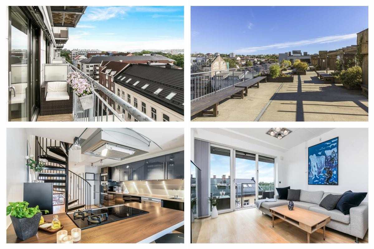 Leilighet - Grünerløkka - Sofienberg - oslo - 5 080 000,- - Schala & Partners
