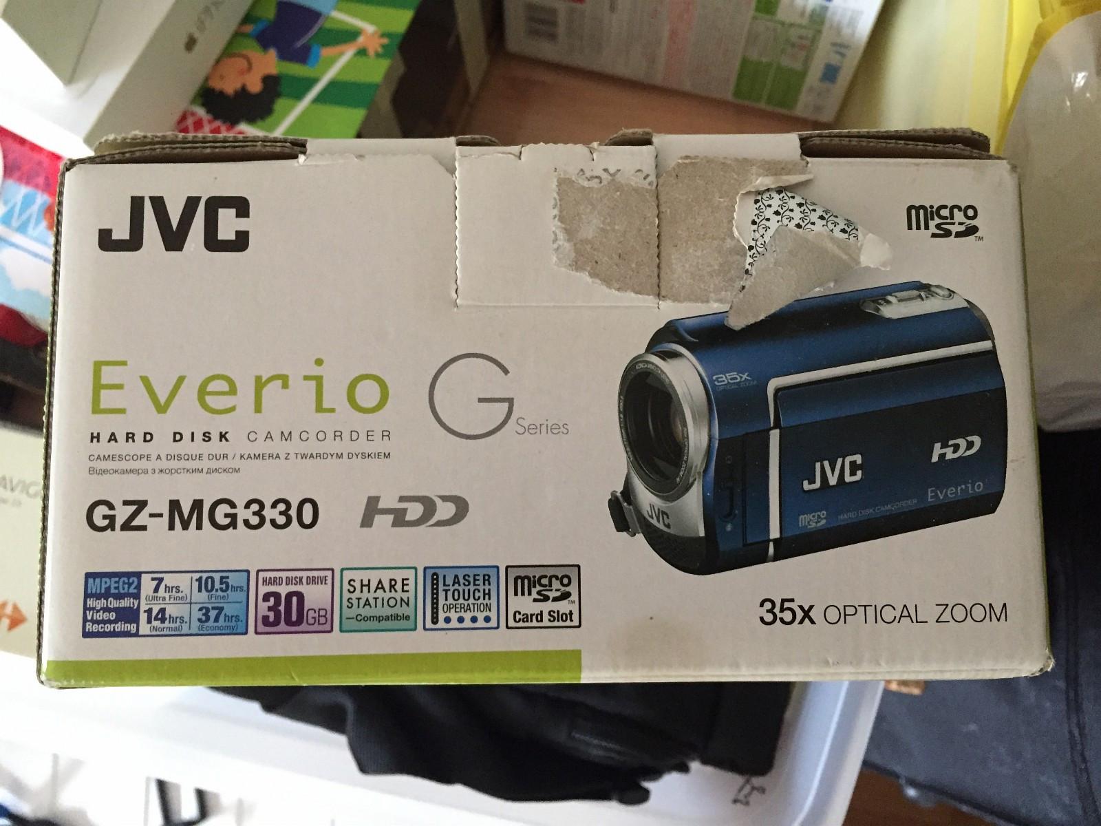 JVC Videokamera som ny - Drammen  - JVC Video Kamera som ny  max använd 2ggr  den är liten och smidigt :) 30gb hårddisk HD 35 optiskt zoom  mer info klicka denna länken http://support.jvc.com/consumer/product.jsp?mo - Drammen