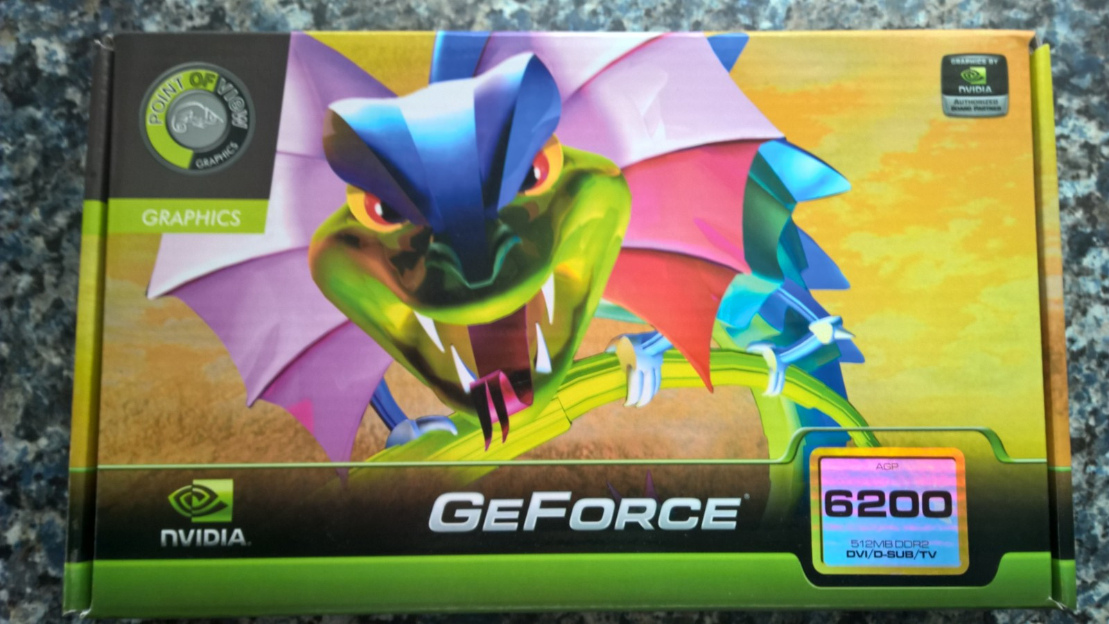 GeForce 6200A skjermkort. Ubrukt - Greåker  - GeForce 6200A skjermkort selges.  Ubrukt. - Greåker