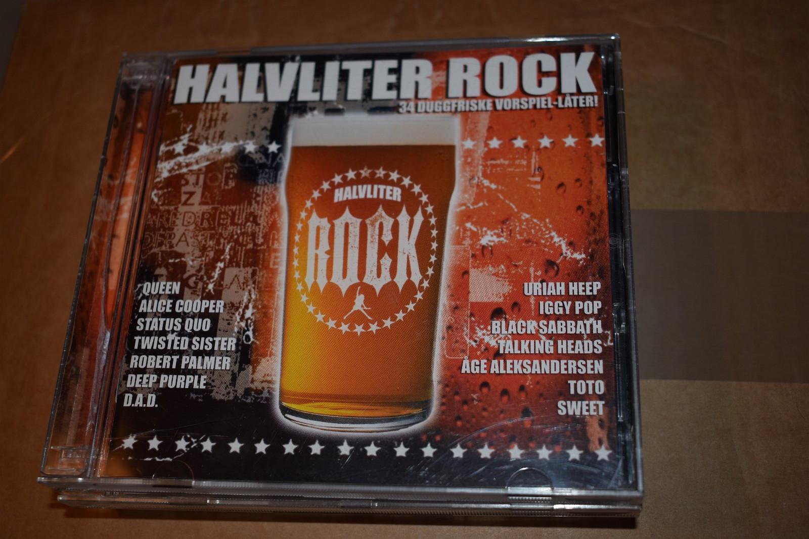Halvliter Rock - Leknes  - Dobbel CD Halvliter Rock - samlet de beste låtene.   EX-/EX-  h.b.o. kr. 55,- - Leknes
