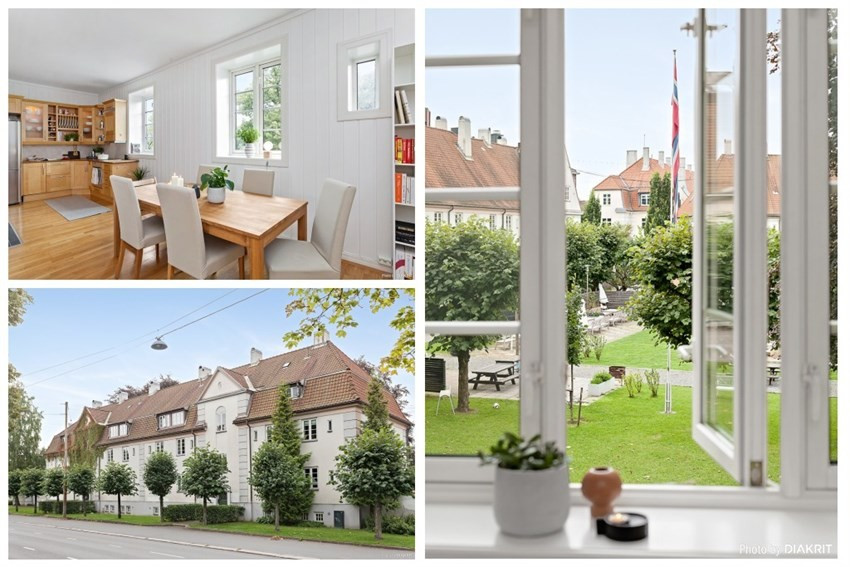 Leilighet - St. Hanshaugen - Ullevål - oslo - 5 300 000,- - Schala & Partners