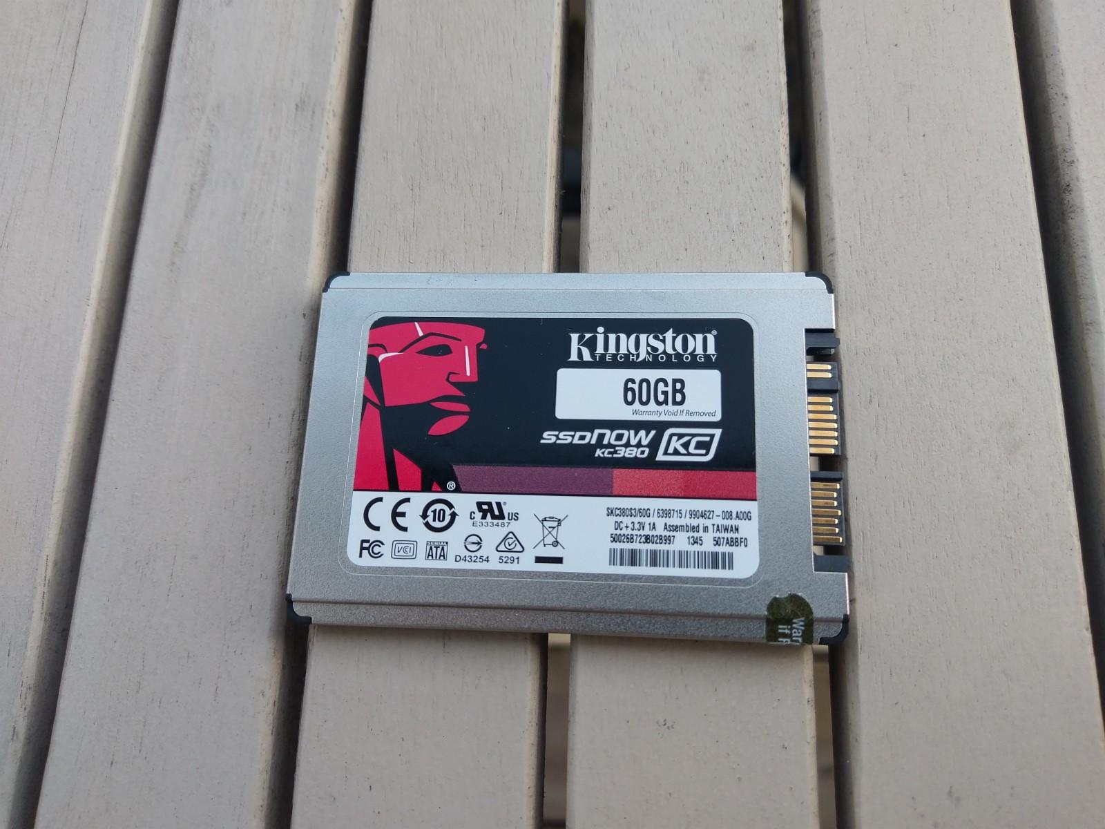 """Kingston SSDNow KC380 1.8"""" 60GB - Aldri brukt - Oslo  - Aldri brukt SSD fra Kingston.  60GB - 1.8""""  Kjøpte den en stund siden men fikk aldri brukt den til noe fordi den hadde for lite kapasitet.  Sender ikke. - Oslo"""