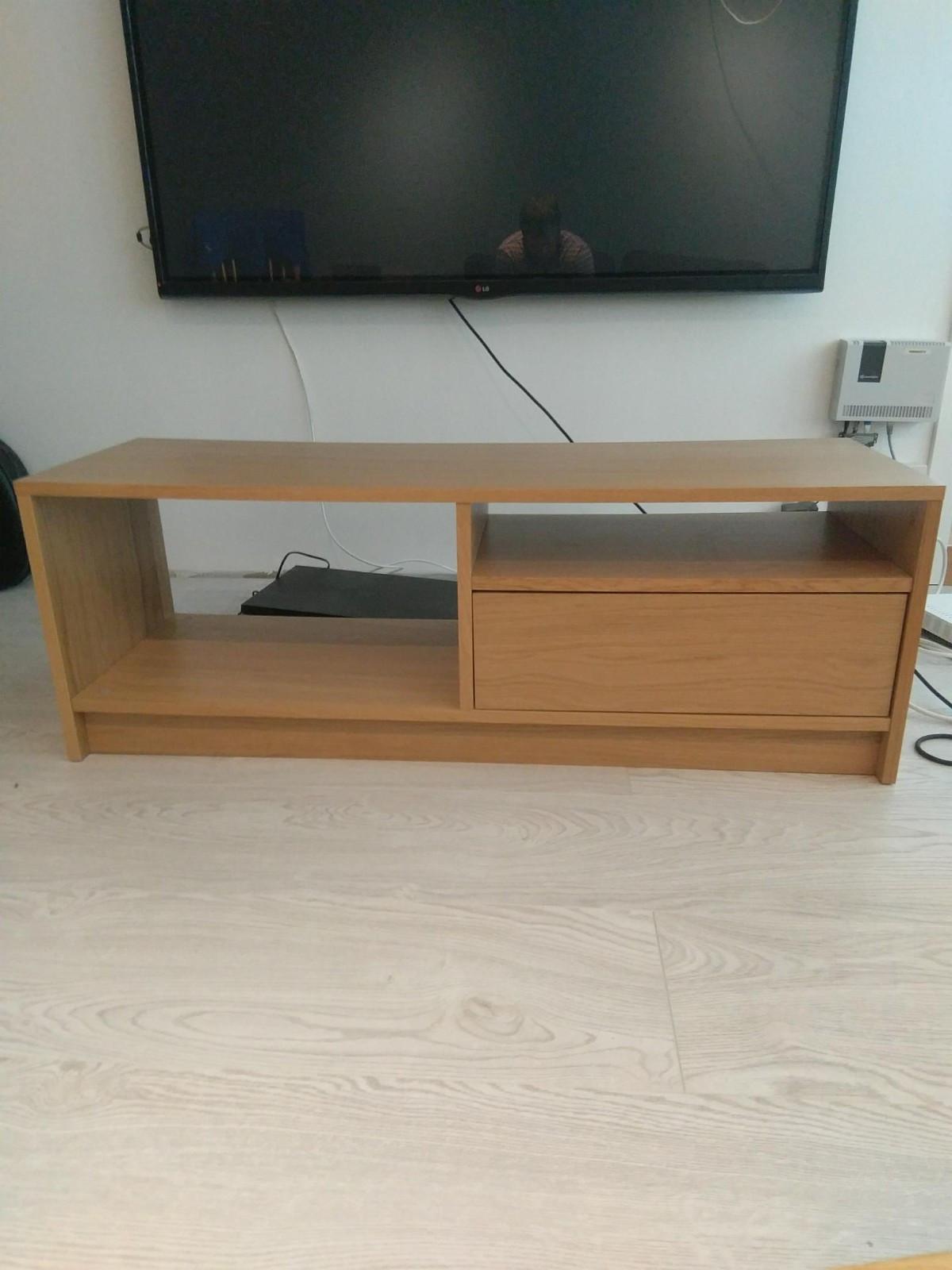 Benno Tv-benk - Fyllingsdalen  - Pent brukt IKEA benno TV-en. Med ei skuff.   BXHXD 120x42, 5x39 - Fyllingsdalen
