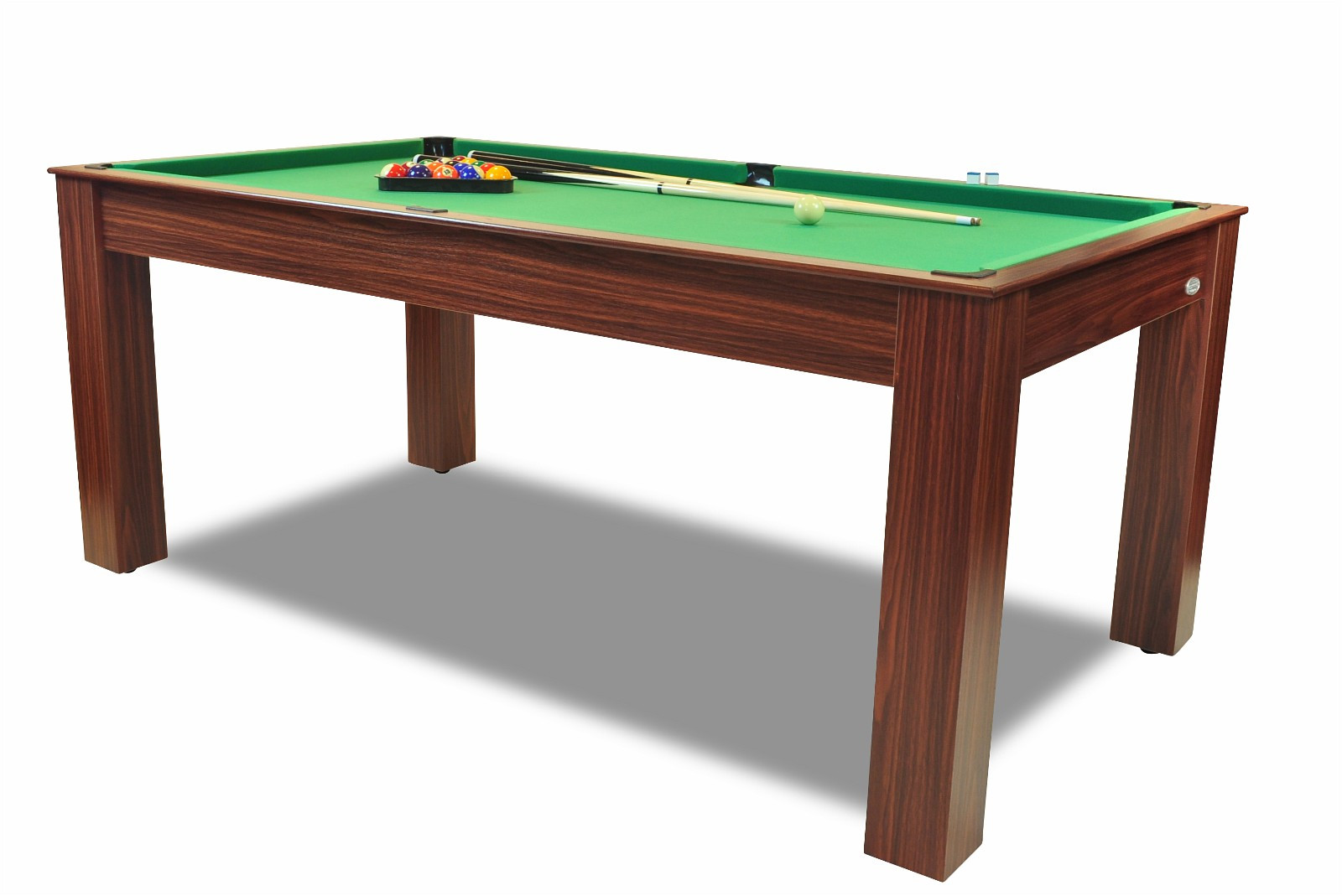 Kombibord med spisebord, biljardbord og bordtennisbord - 3 i 1 kombi ...