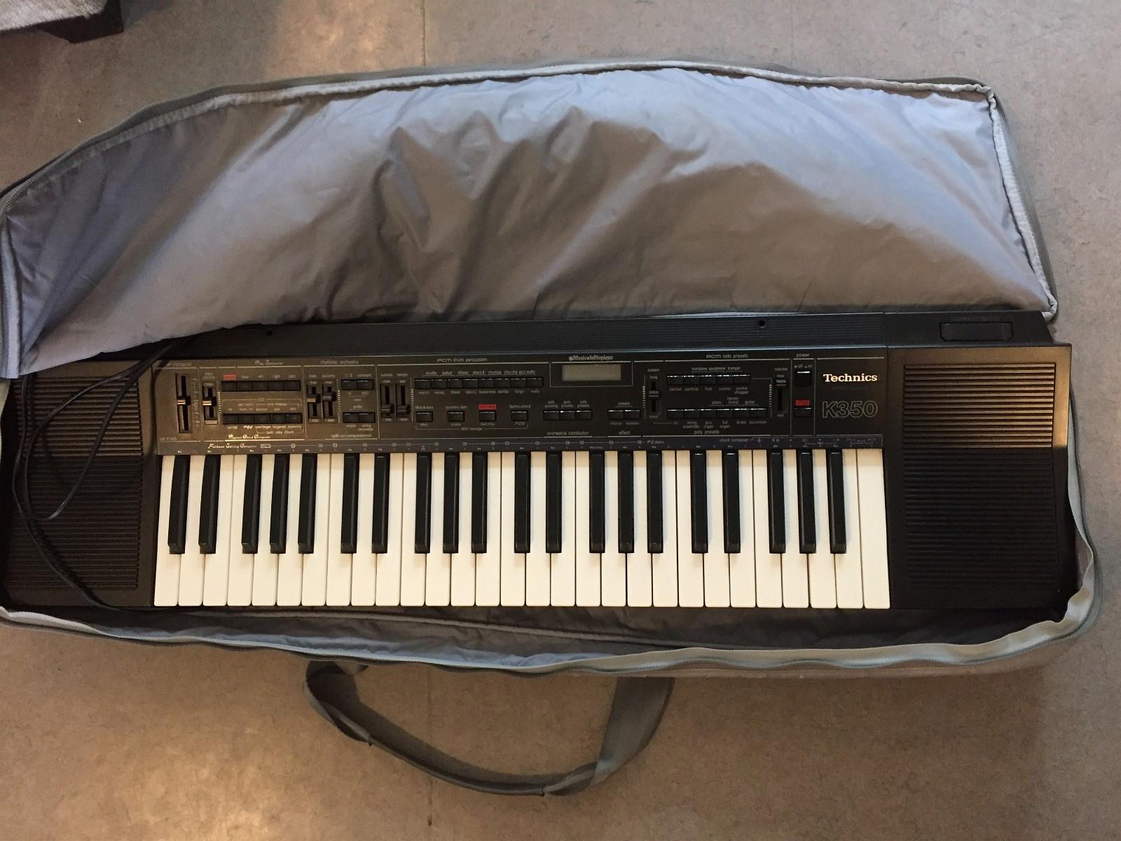 Keyboard Synth Technics k350 - Lillehammer  - Keyboard i fin stand selges til rimelig pris.  Keyboardet heter Technics k350. Kan prøves / hentes i Lillehammer. Ta kontakt ved interesse! - Lillehammer
