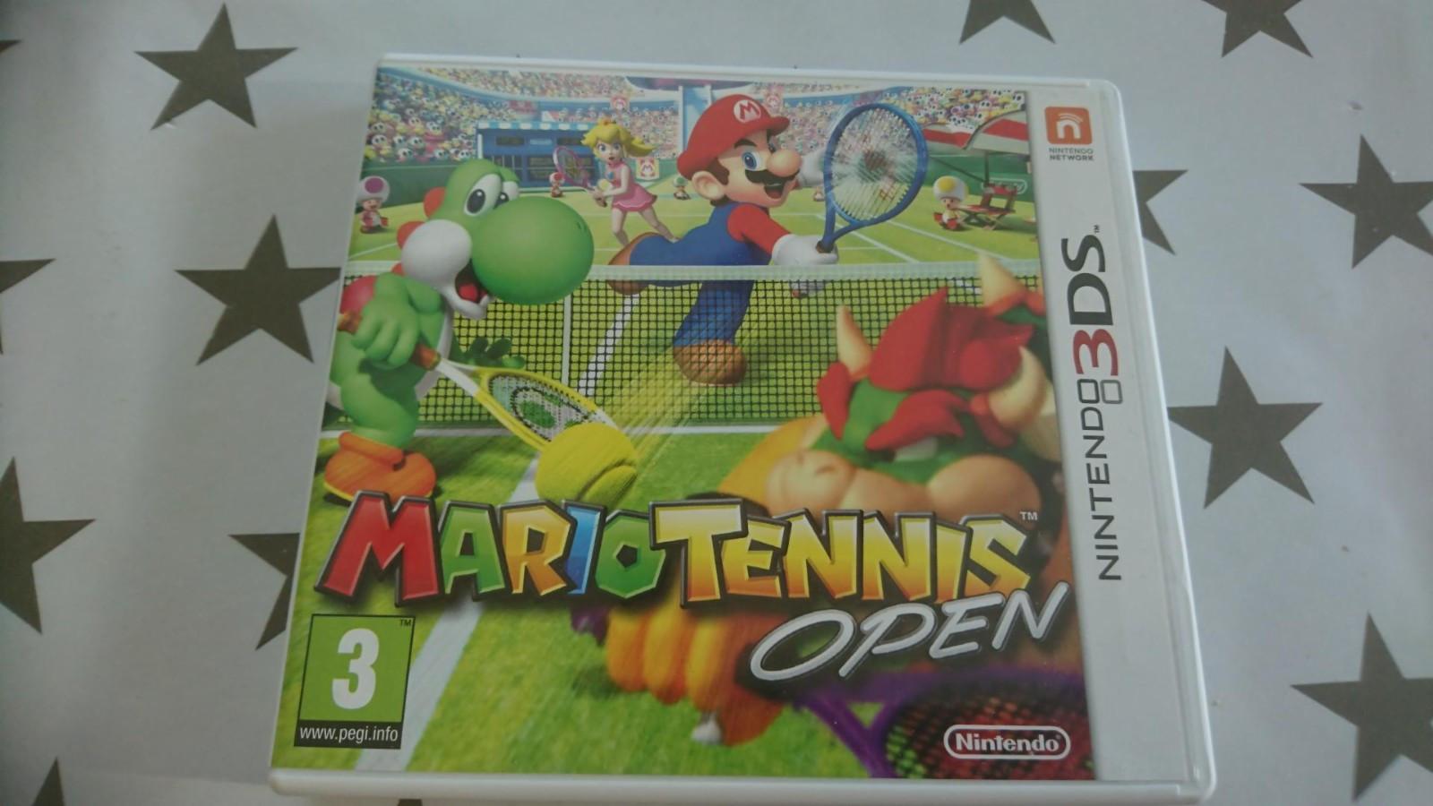 Nintendo 3DS - Hasselvika  - Nintendo 3DS spill selges. Mario Tennis open - Hasselvika
