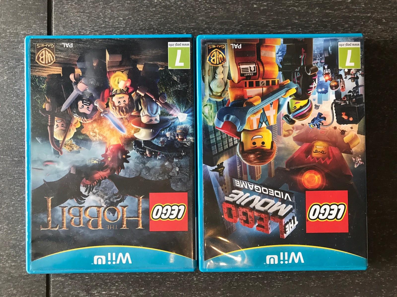 Lego Hobbit og The Lego Movie Video Game Wii U - Oslo  - Lego Hobbit og The Lego Movie Video Game til Wii U til salgs - Oslo