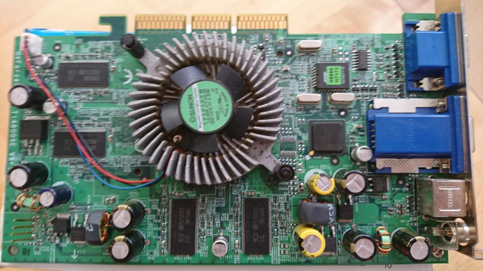 GeForce 4 Titanium 4800SE - Trondheim  - GeForce 4 Titanium 4800SE AGP grafikkort til salgs. En av de beste AGP kortene. Oppbevart i et innebod med konstant temperatur på ca 20° Kan sendes - Trondheim