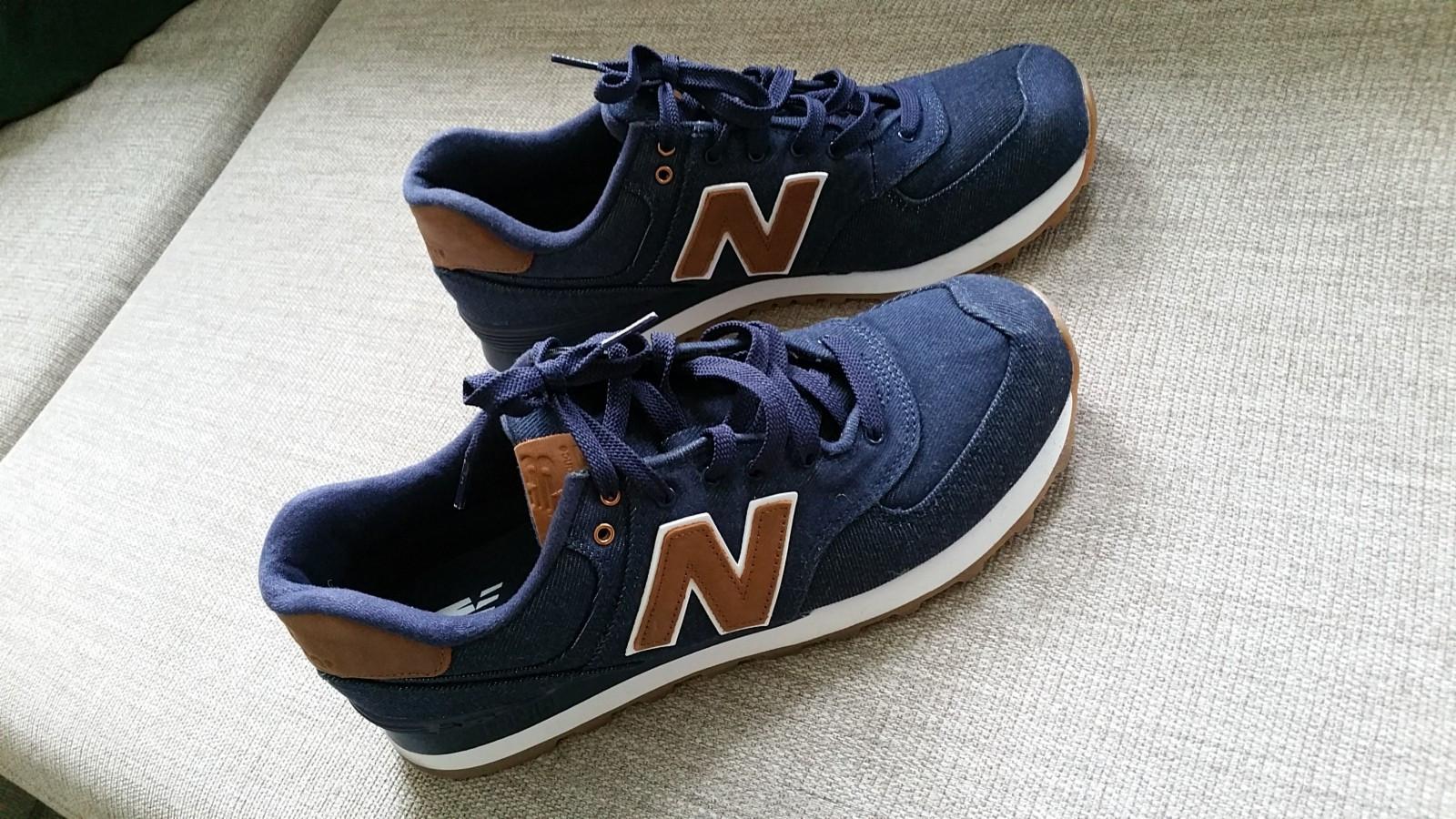 New Balance sko - Trondheim  - Ubrukte New Balance sko selges til halv pris. Størrelse 43. Kjøpt i Los Angeles. Dessverre for små til meg - Trondheim