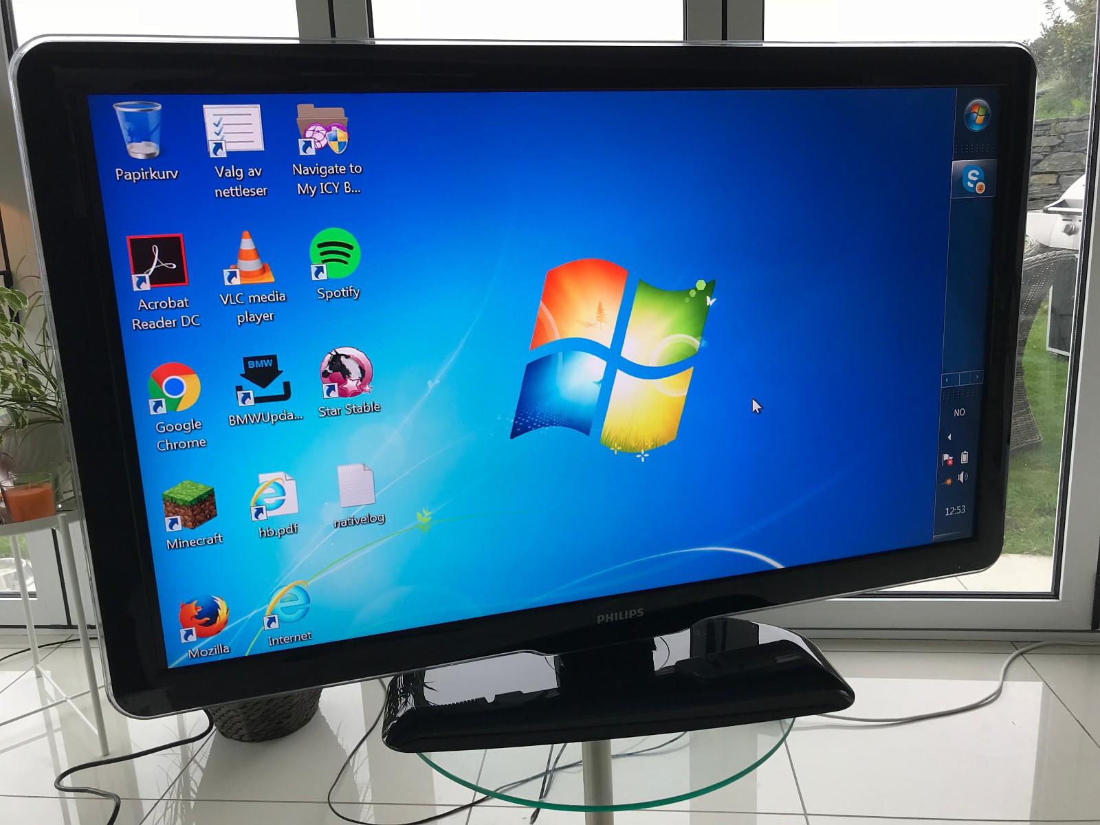 "LCD-TV Philips 47"" - Søgne  - LCD-TV Philips 47"" som ny. https://www.philips.no/c-p/47PFL5604H_12/lcd-tv-med-pixel-plus-hd - Søgne"