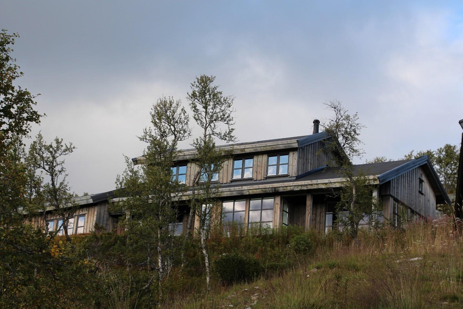 Vestvendt hytte med 180 grader panoramautsikt