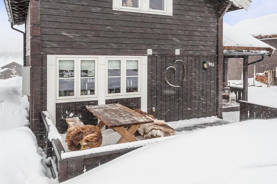 Bilder fra tilsvarende hytte - kundetilpasninger kan forekomme.