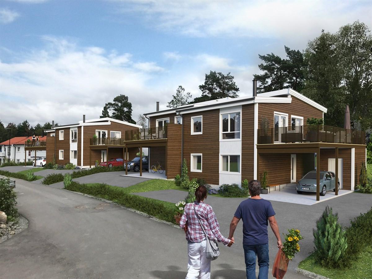 Rekkehus - stavern - 3 290 000 til 3 490 000,- - Leinæs & Partners