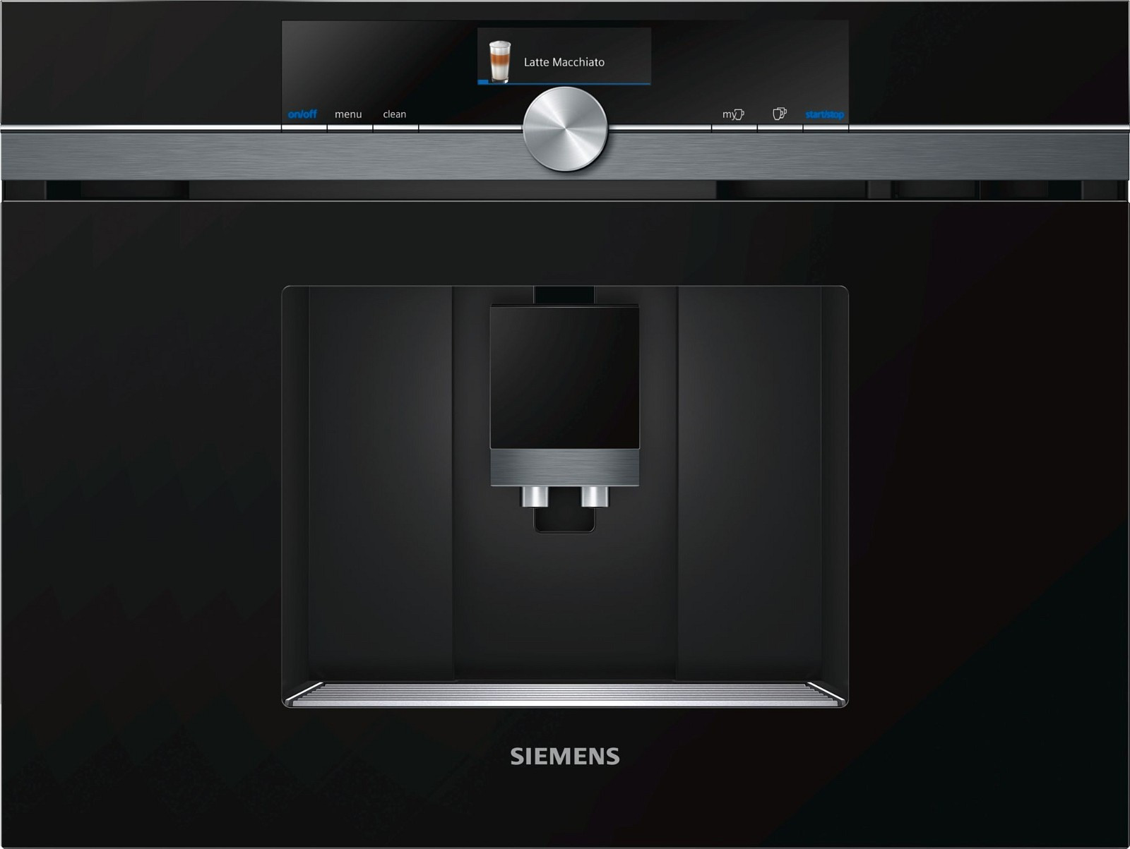siemens espresso kaffemaskin black steel ct836leb6 39 veil. Black Bedroom Furniture Sets. Home Design Ideas